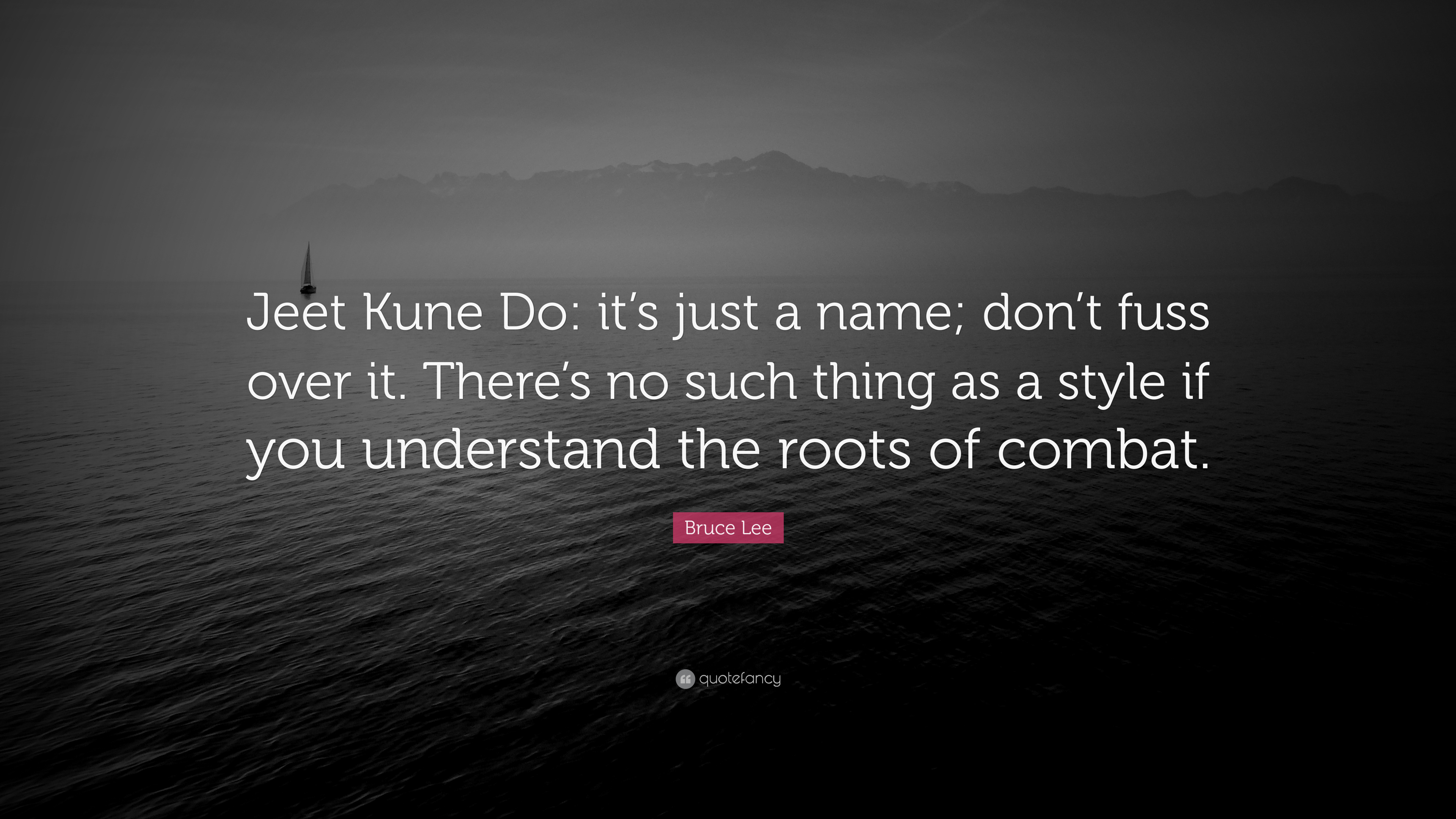"""Bruce Lee Jeet Kune Do Quotes Bruce Lee Quote: """"Je..."""