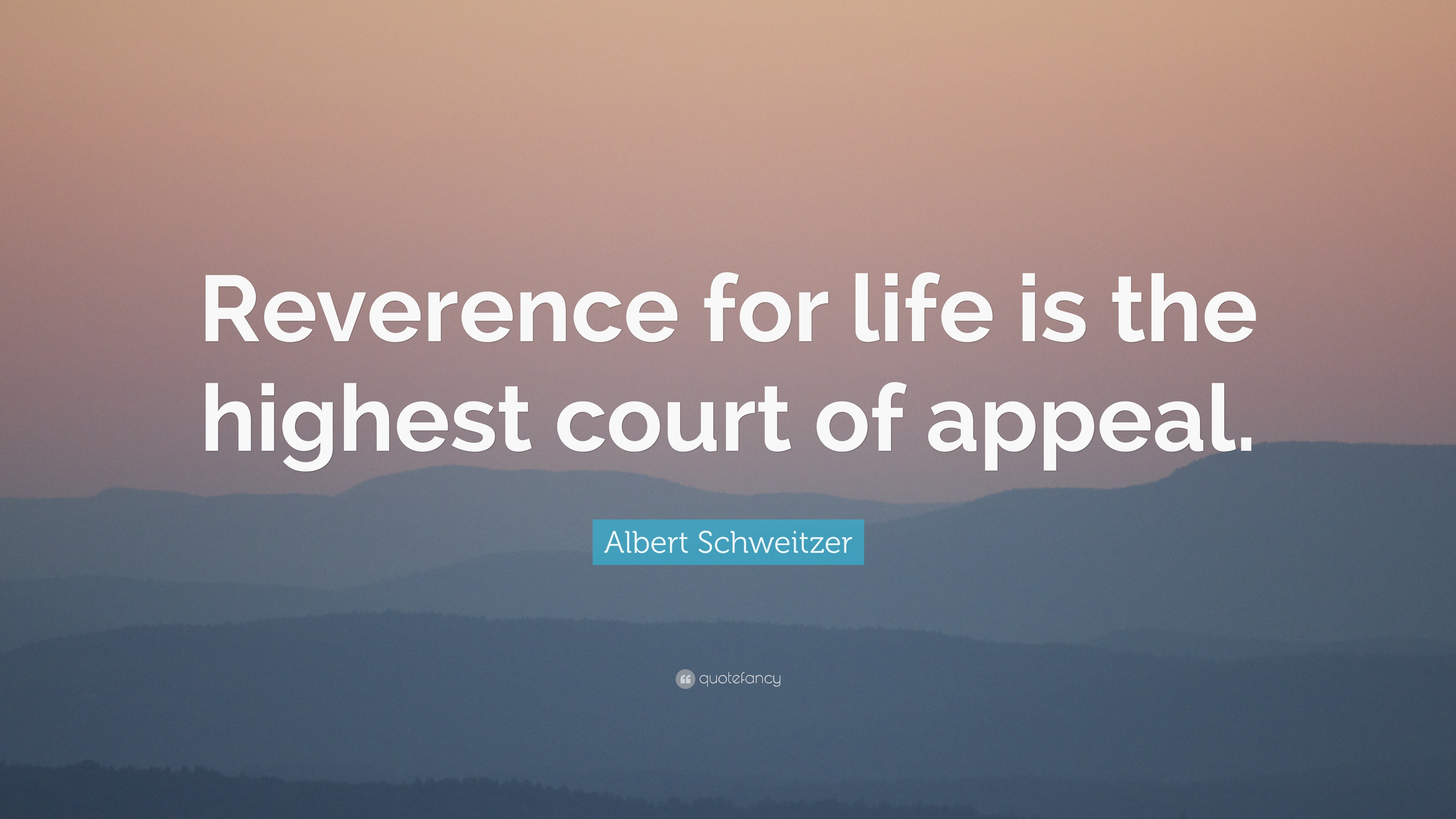 reverence for life Schweitzer is often remembered as a nobel prize laureate who, late in life,  dedicated himself to abolishing nuclear weapons decades earlier, however, he  was.