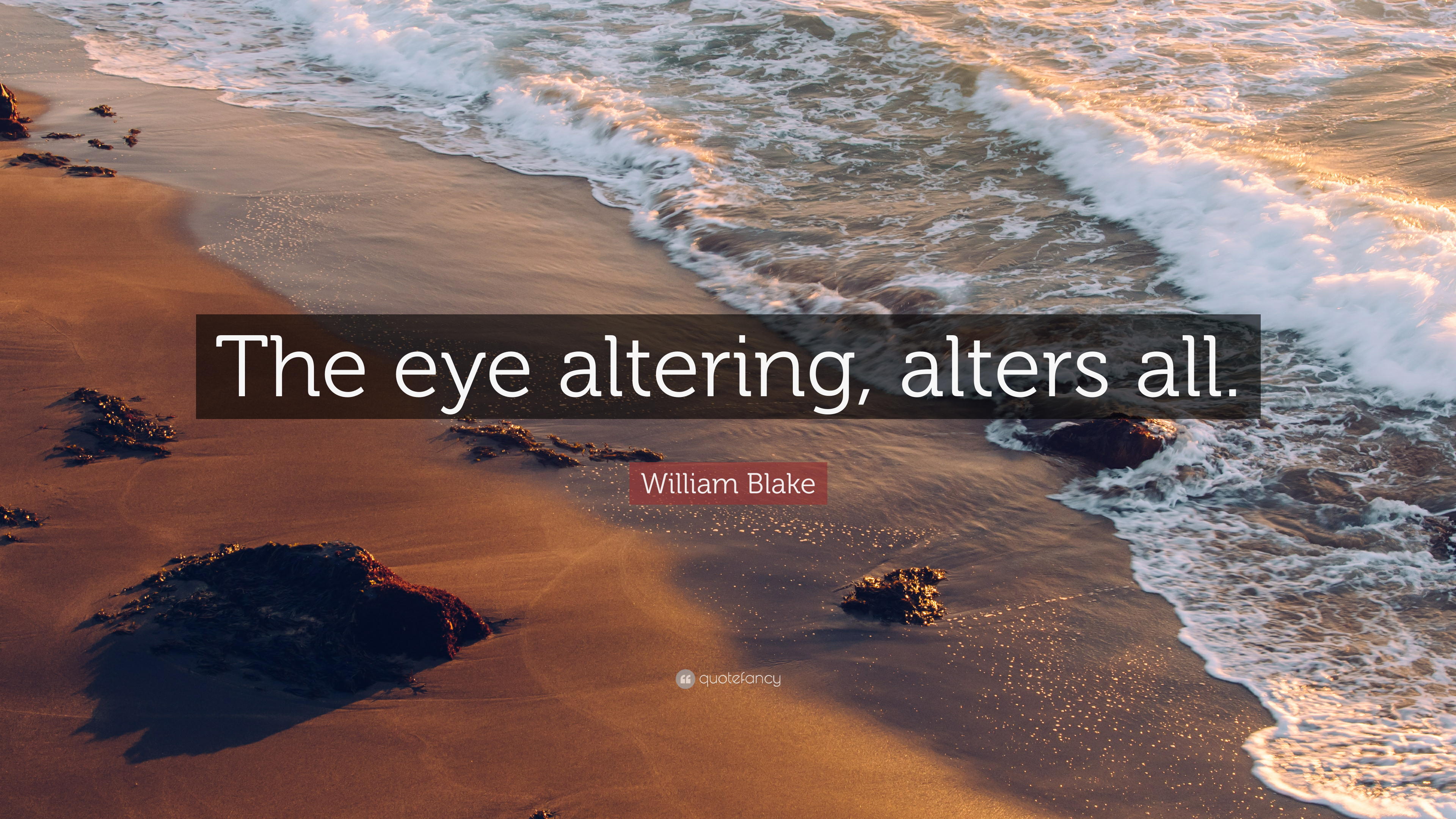 William Blake Quote The Eye Altering Alters All 9 Wallpapers