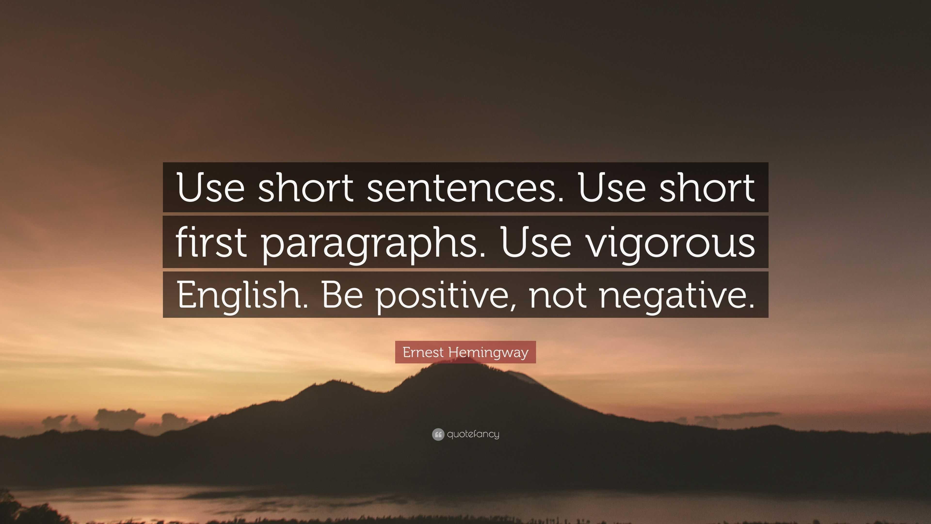 vigorous english