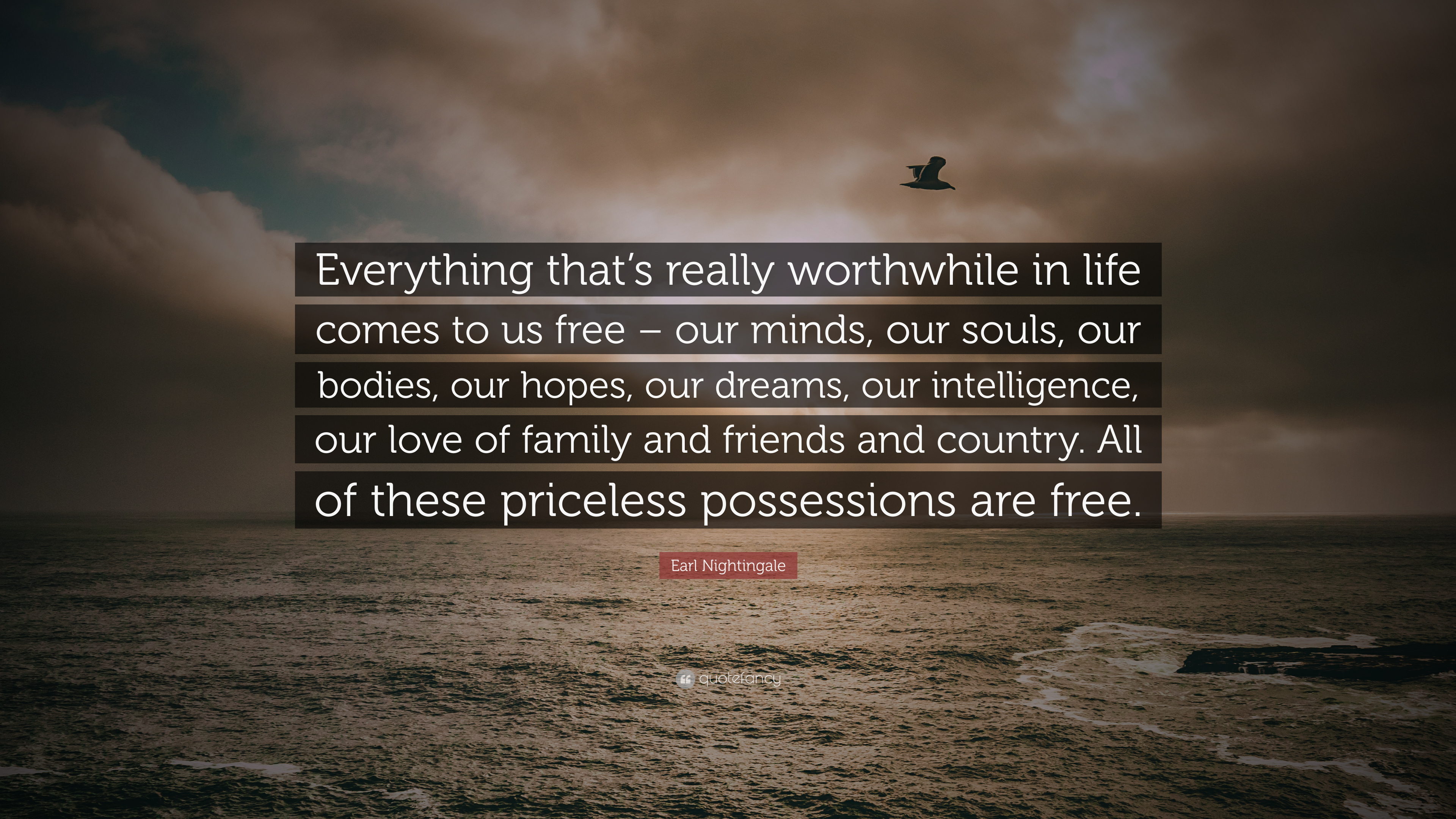 Earl Nightingale Quote Everything Thats Really Worthwhile In Life