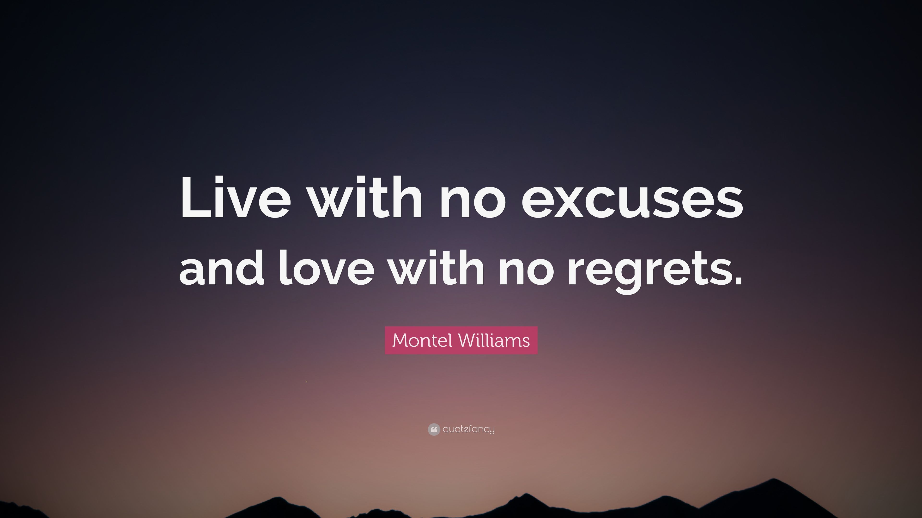 To Live Life with No Regret