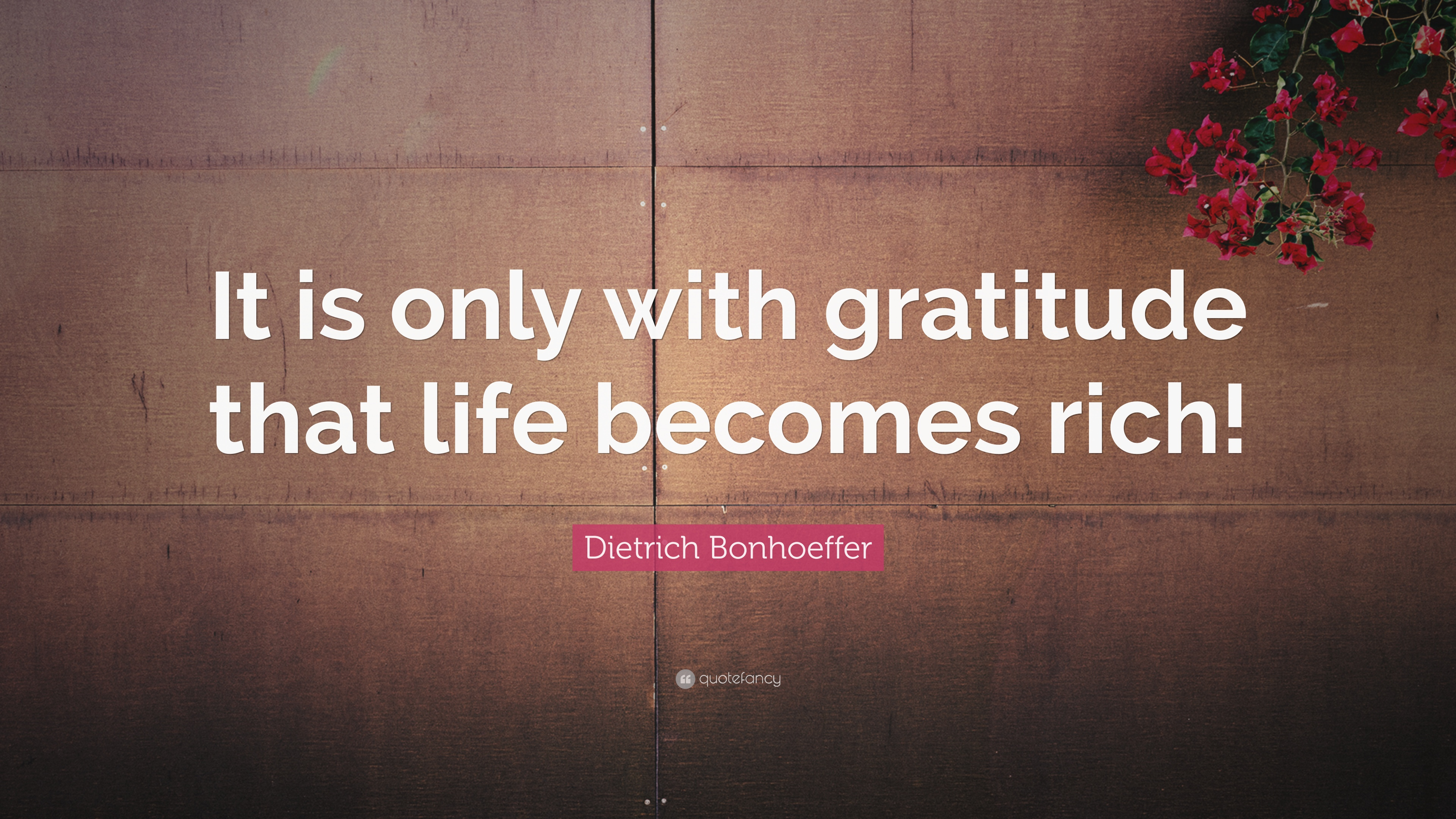 Attractive Gratitude Quotes: U201cIt Is Only With Gratitude That Life Becomes Rich!u201d U2014