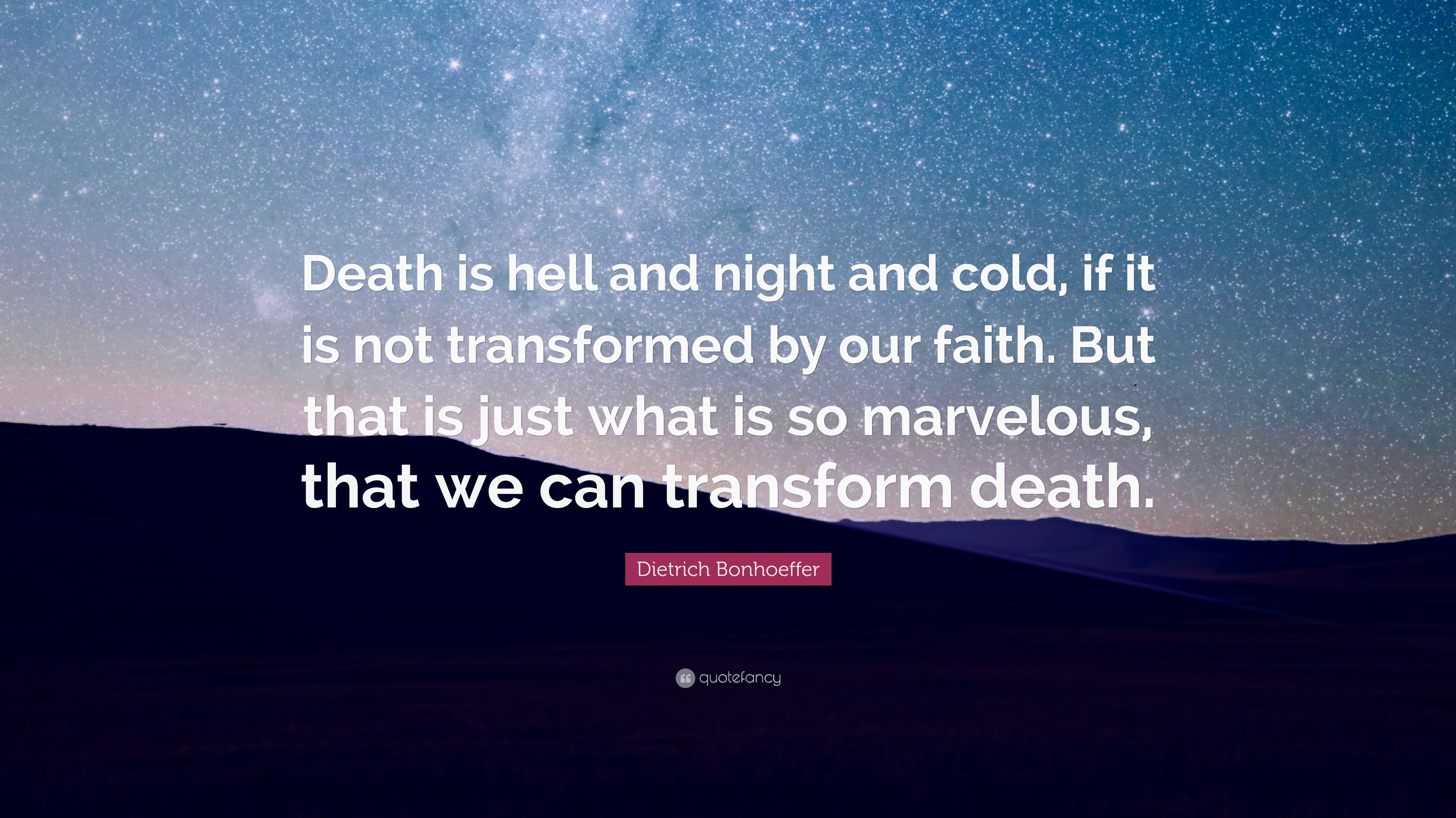 night essays god