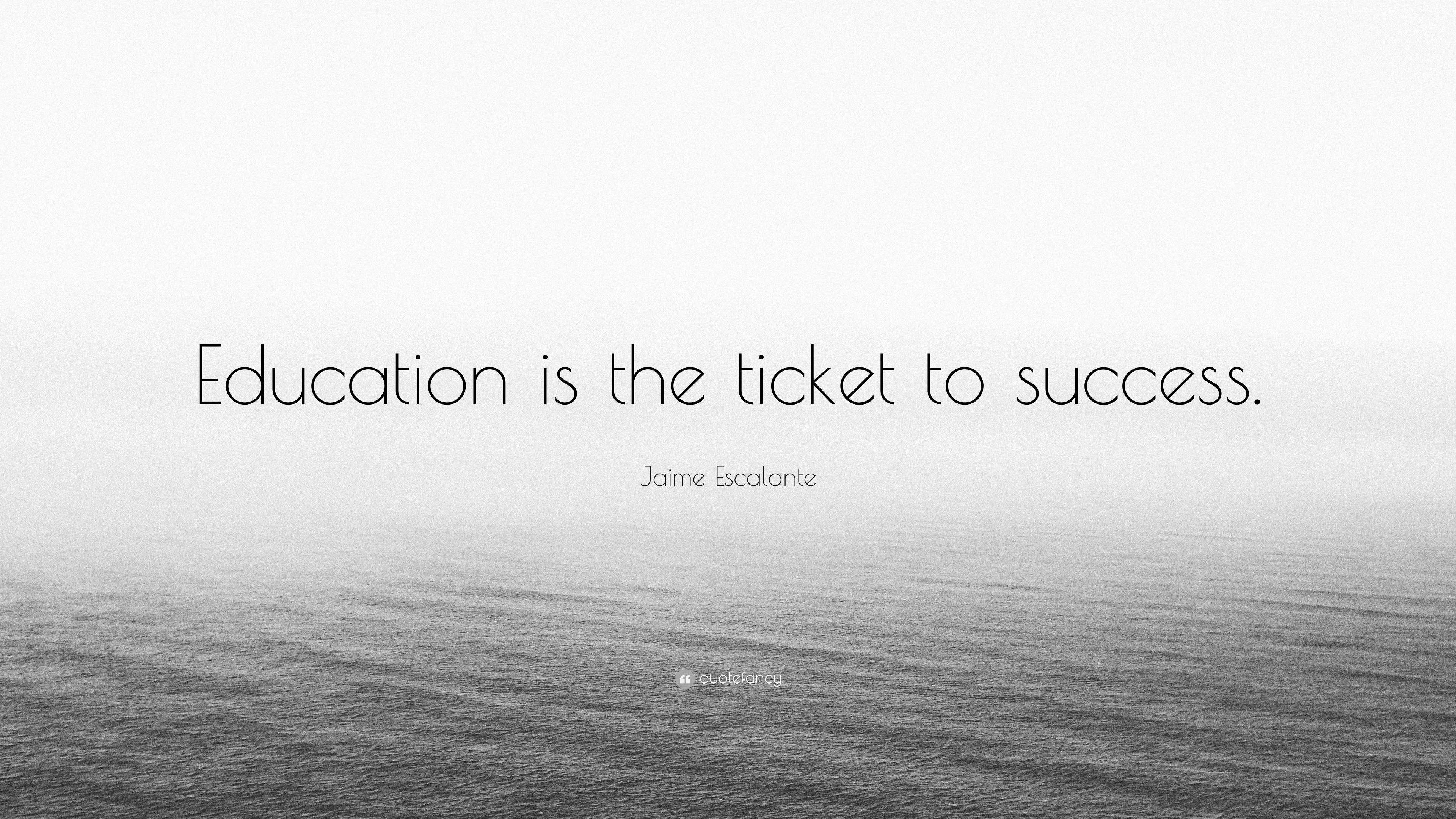 education is a ticket to success Unfortunately, because of ticket to work program guidelines, we are unable to help you with our job placement services the purpose of the ticket to work program and our services is to assist you in getting off disability benefits over time and becoming self-sufficient.