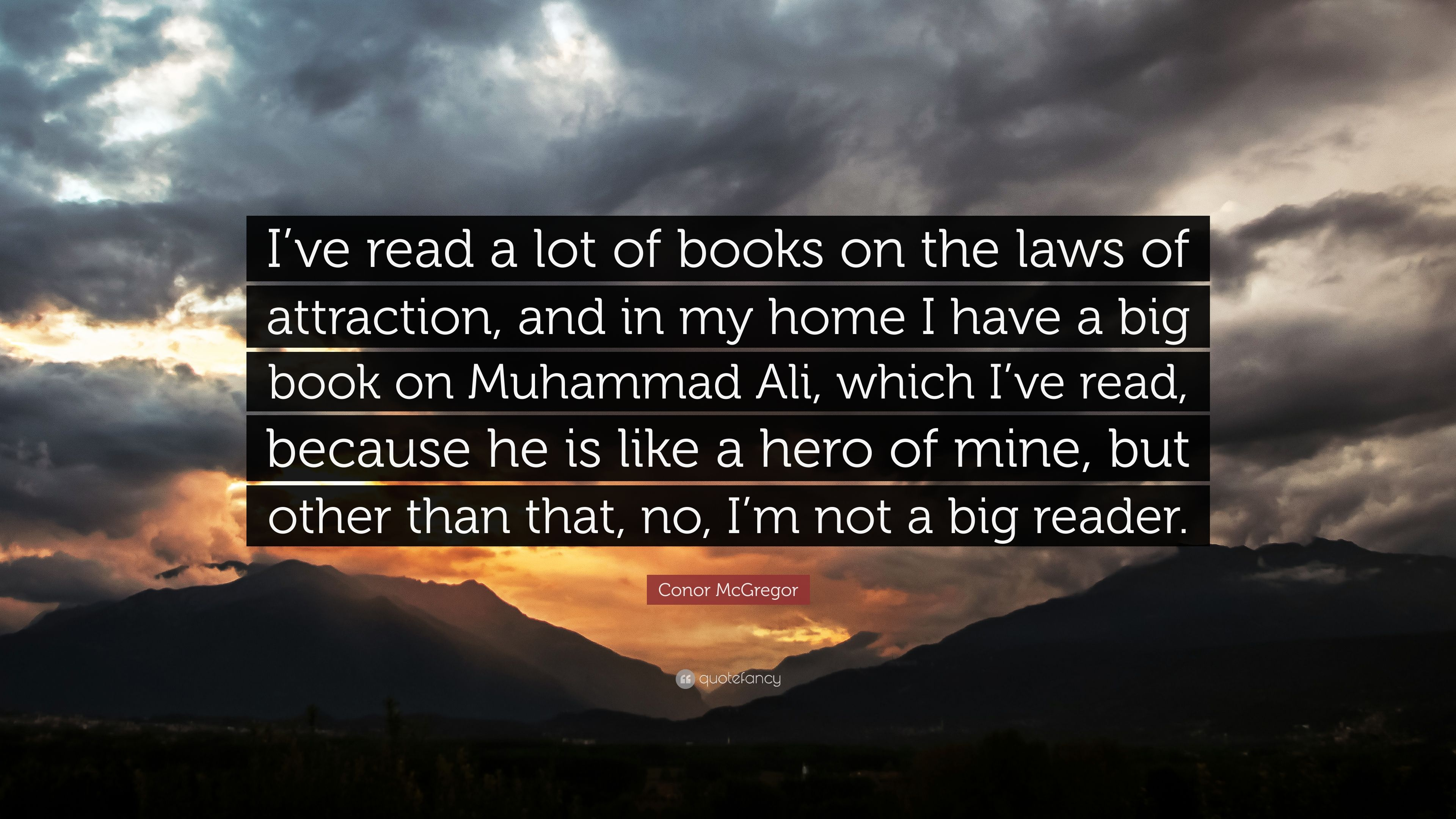 "The Big Book Of Quotes: Conor McGregor Quote: ""I've Read A Lot Of Books On The"