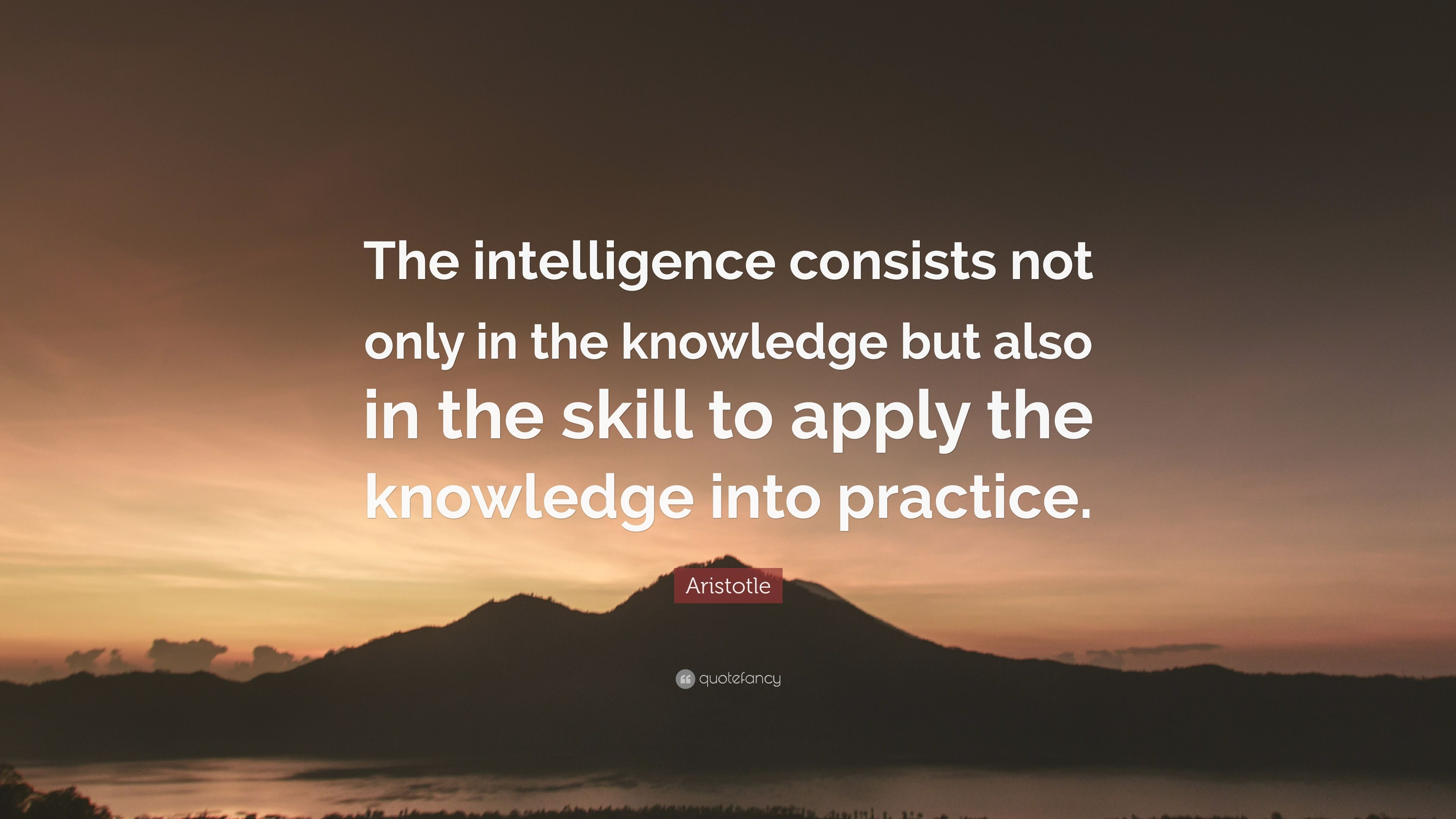 Aristotle Quote About Wisdom: Aristotle Quotes About Knowledge. The Nicomachean Ethics