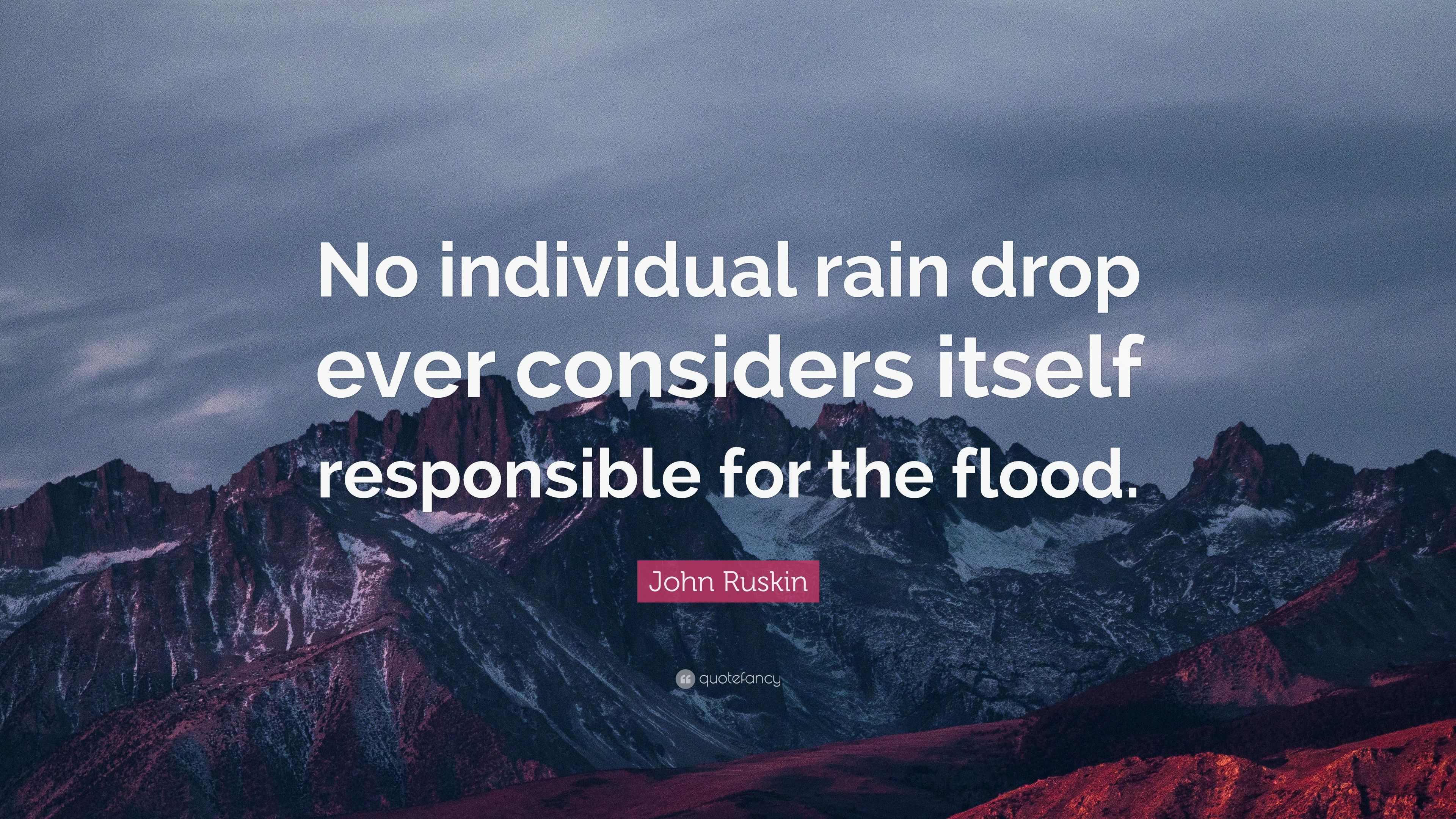 No Single Drop Rain Responsible Flood « 3 beste Aufstellungsorte