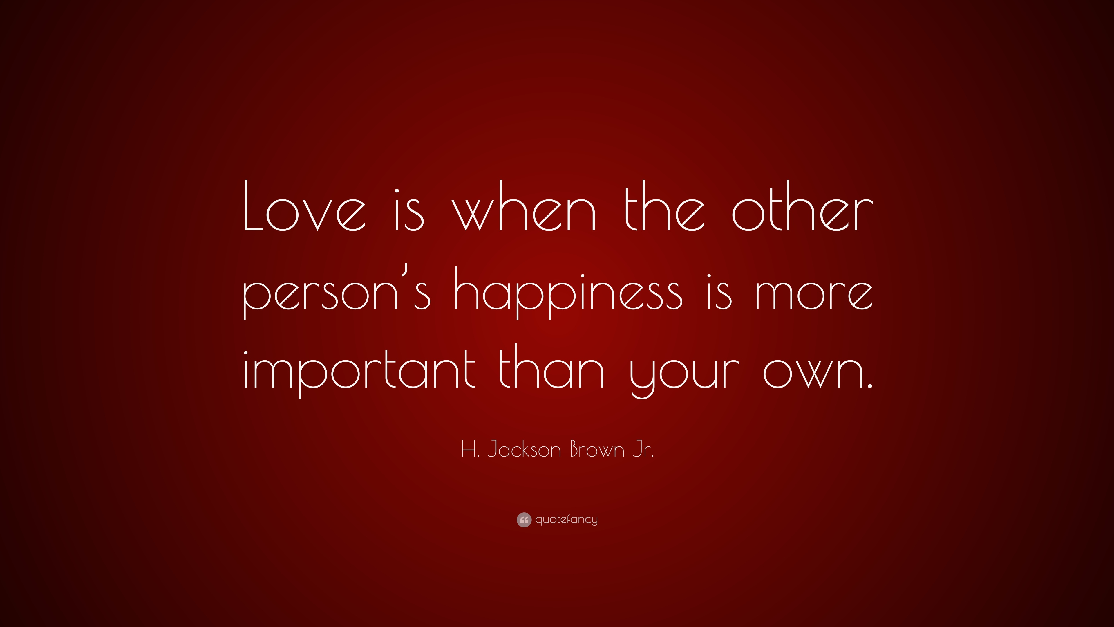 Why is love more important? 2