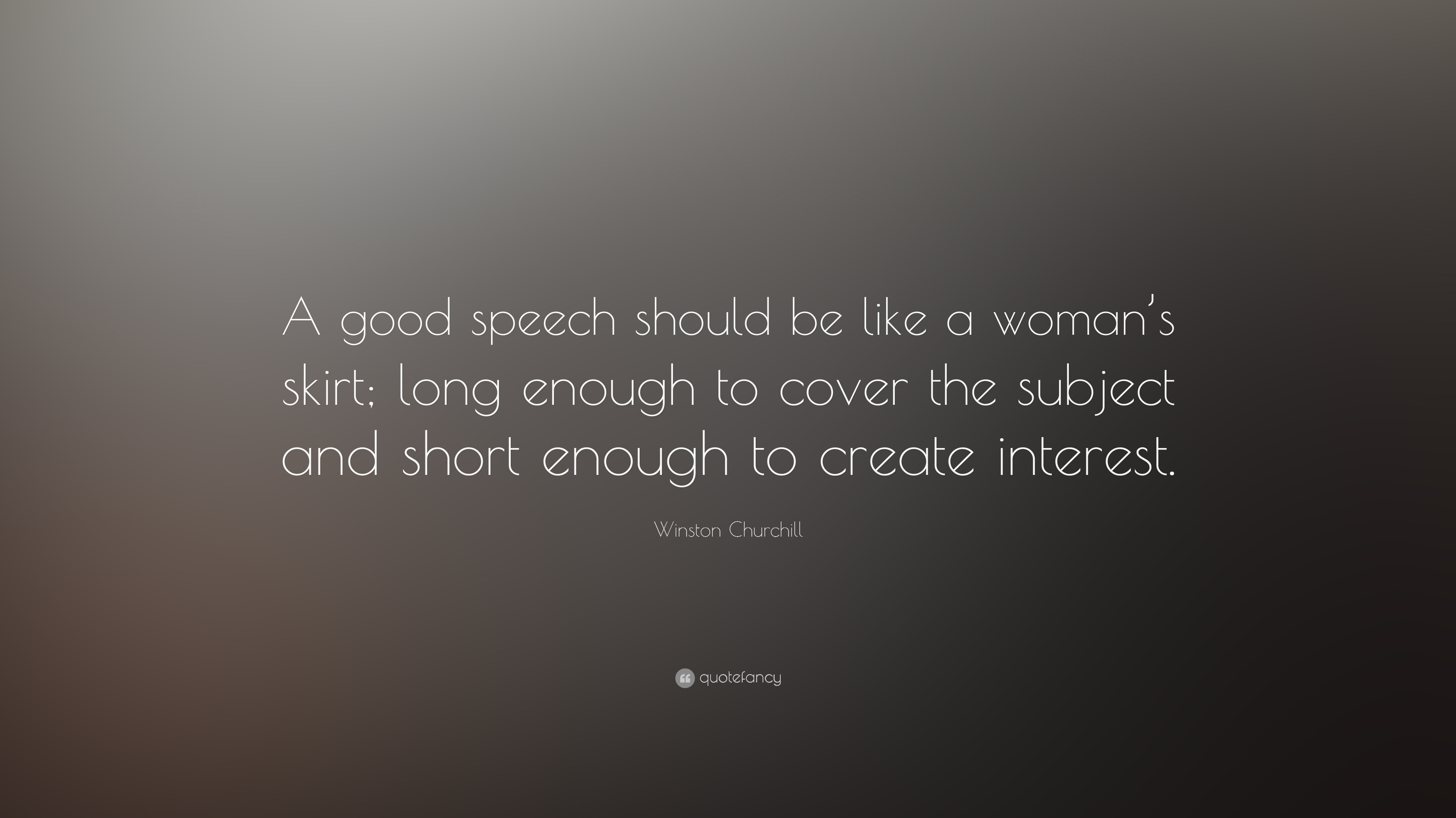 winston churchill quote a good speech should be like a w s winston churchill quote a good speech should be like a w s skirt long