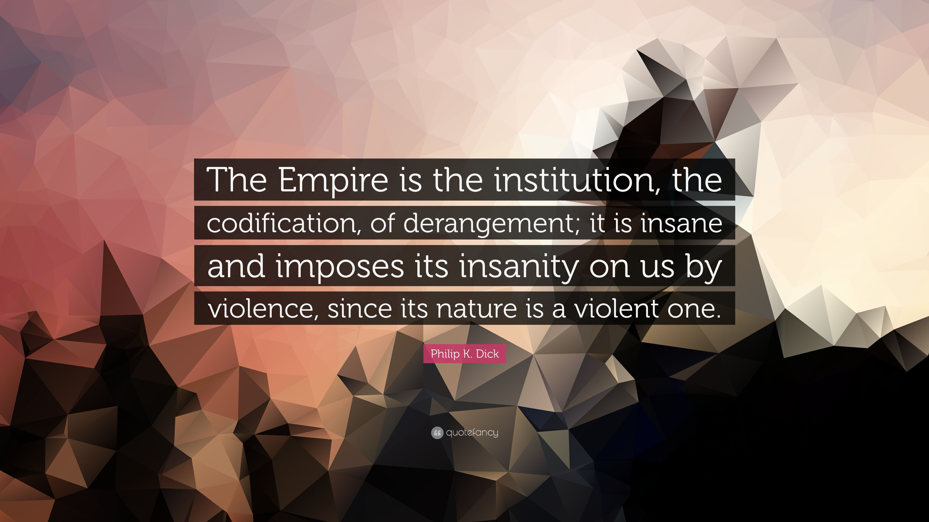 Philip k dick empire