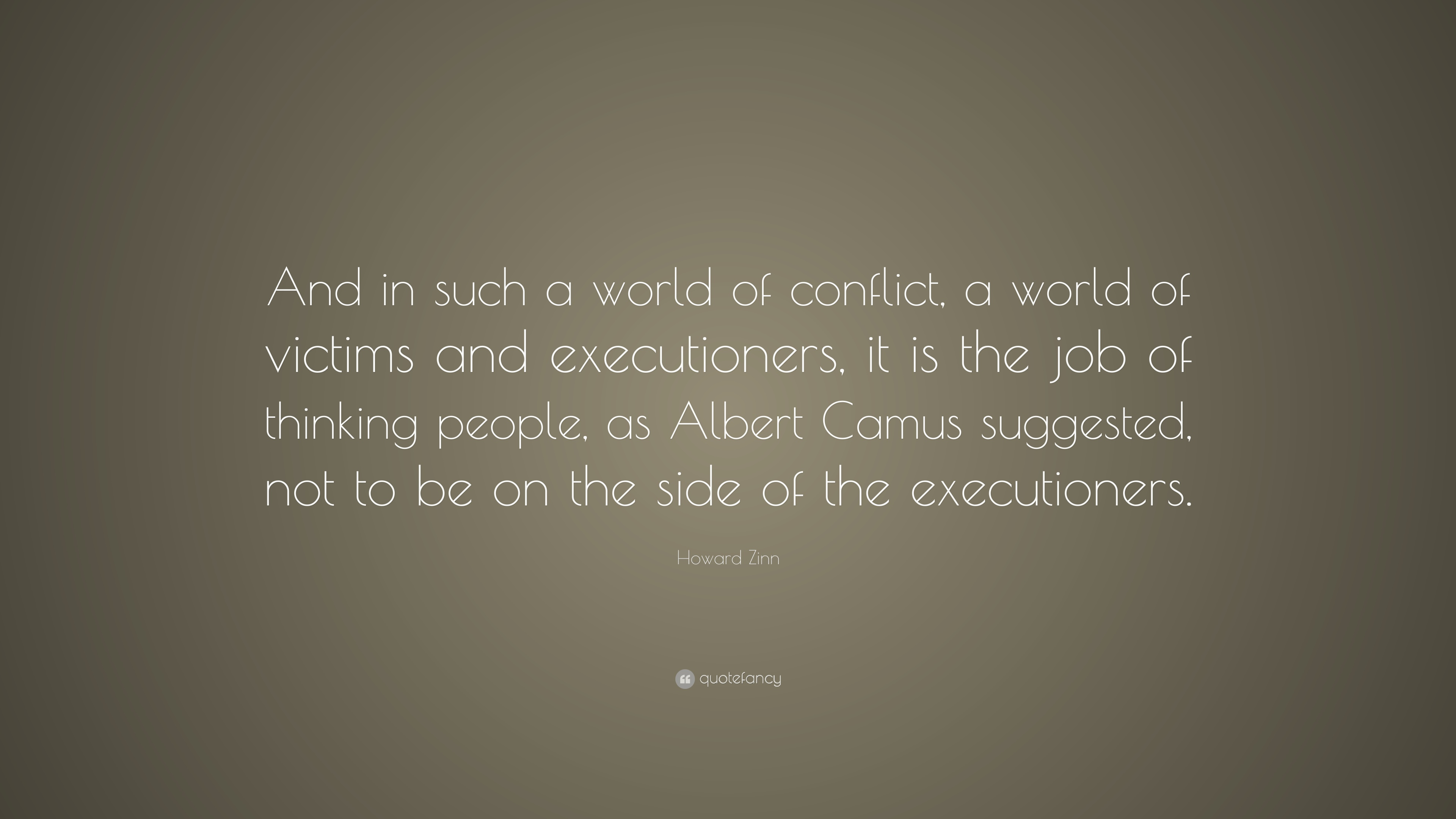 Victims of Conflict Can Be the Most Powerful Fwd Essay
