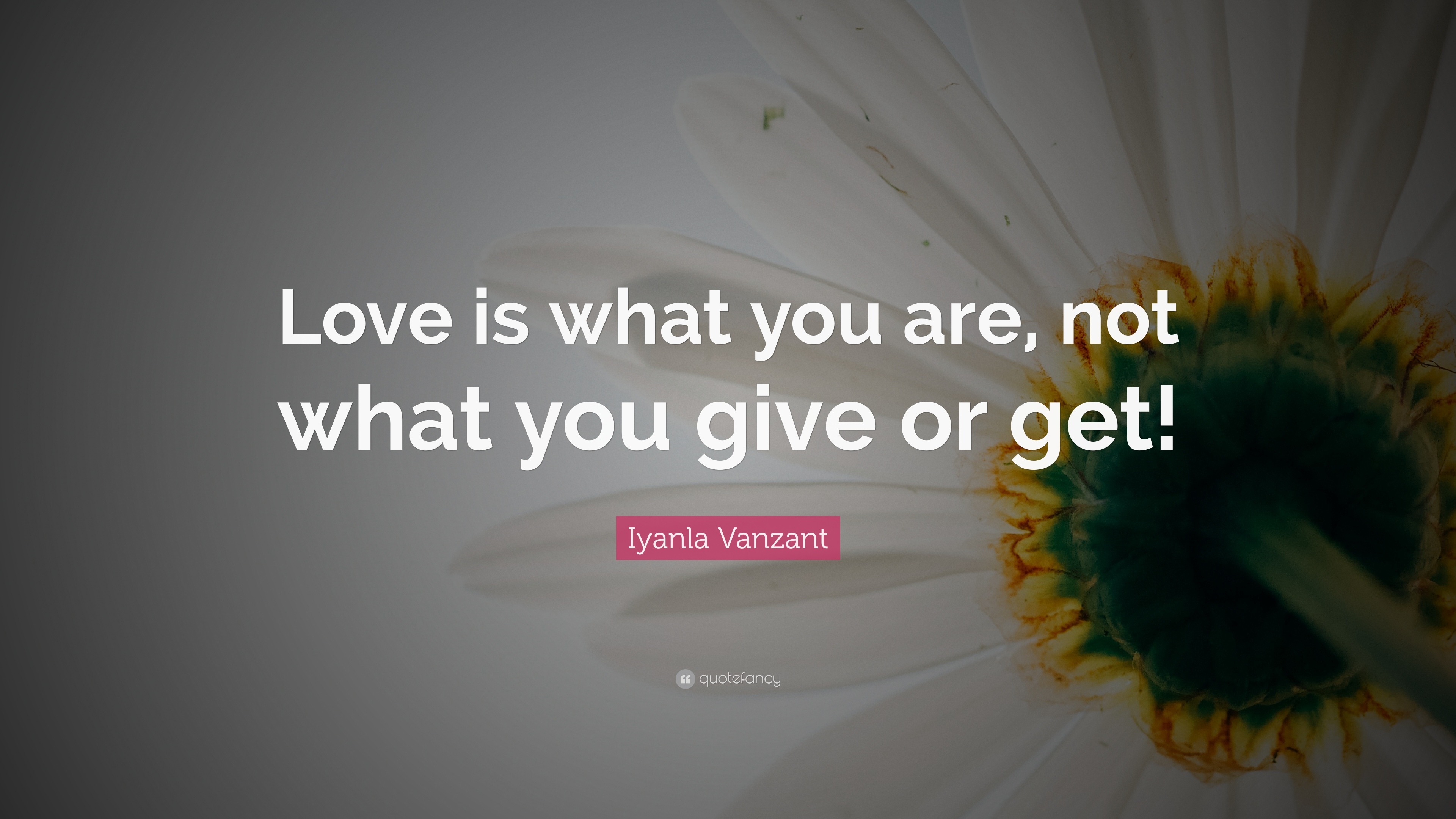 iyanla vanzant on love