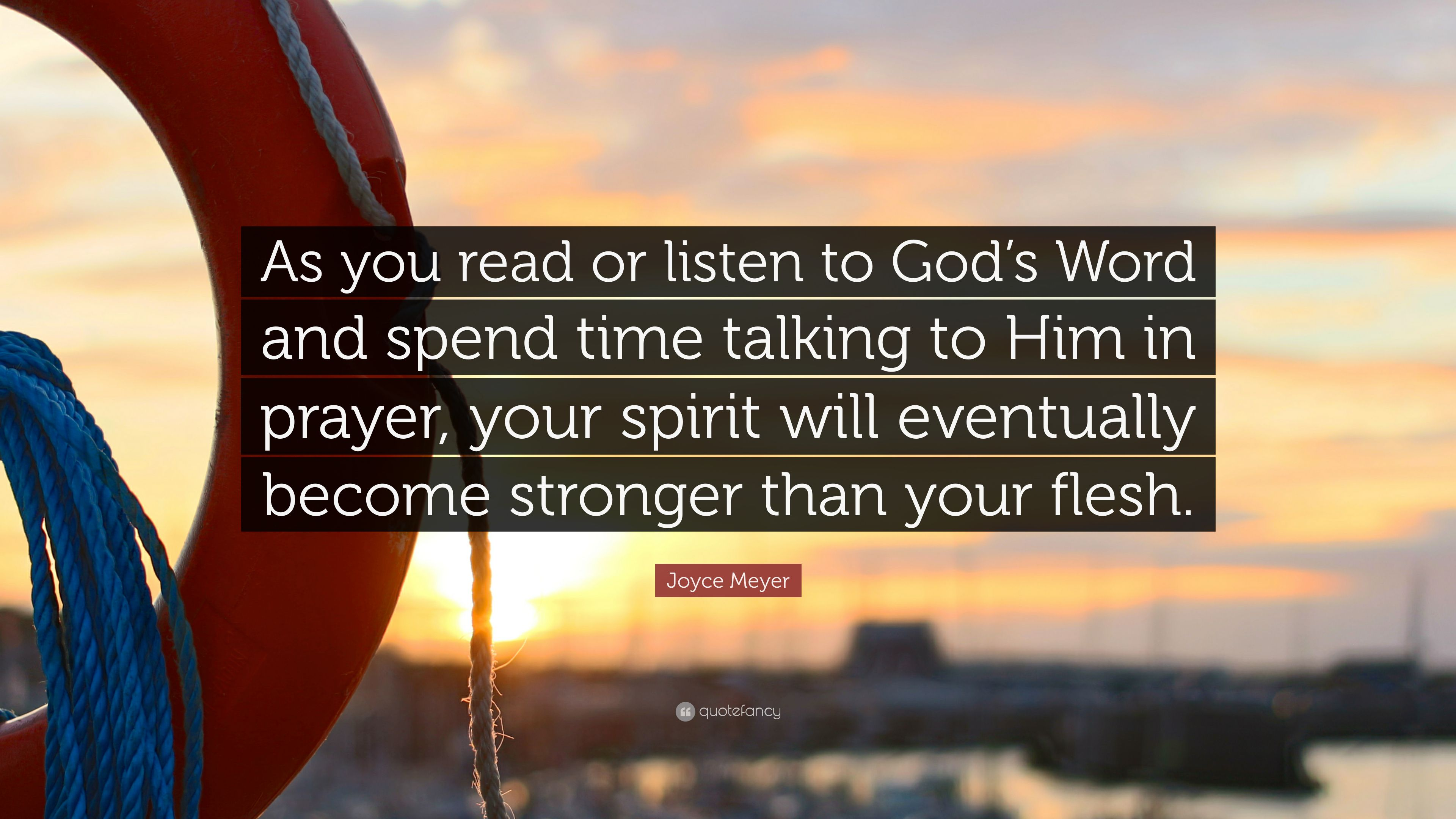 """Joyce Meyer Quote: """"As You Read Or Listen To God's Word"""