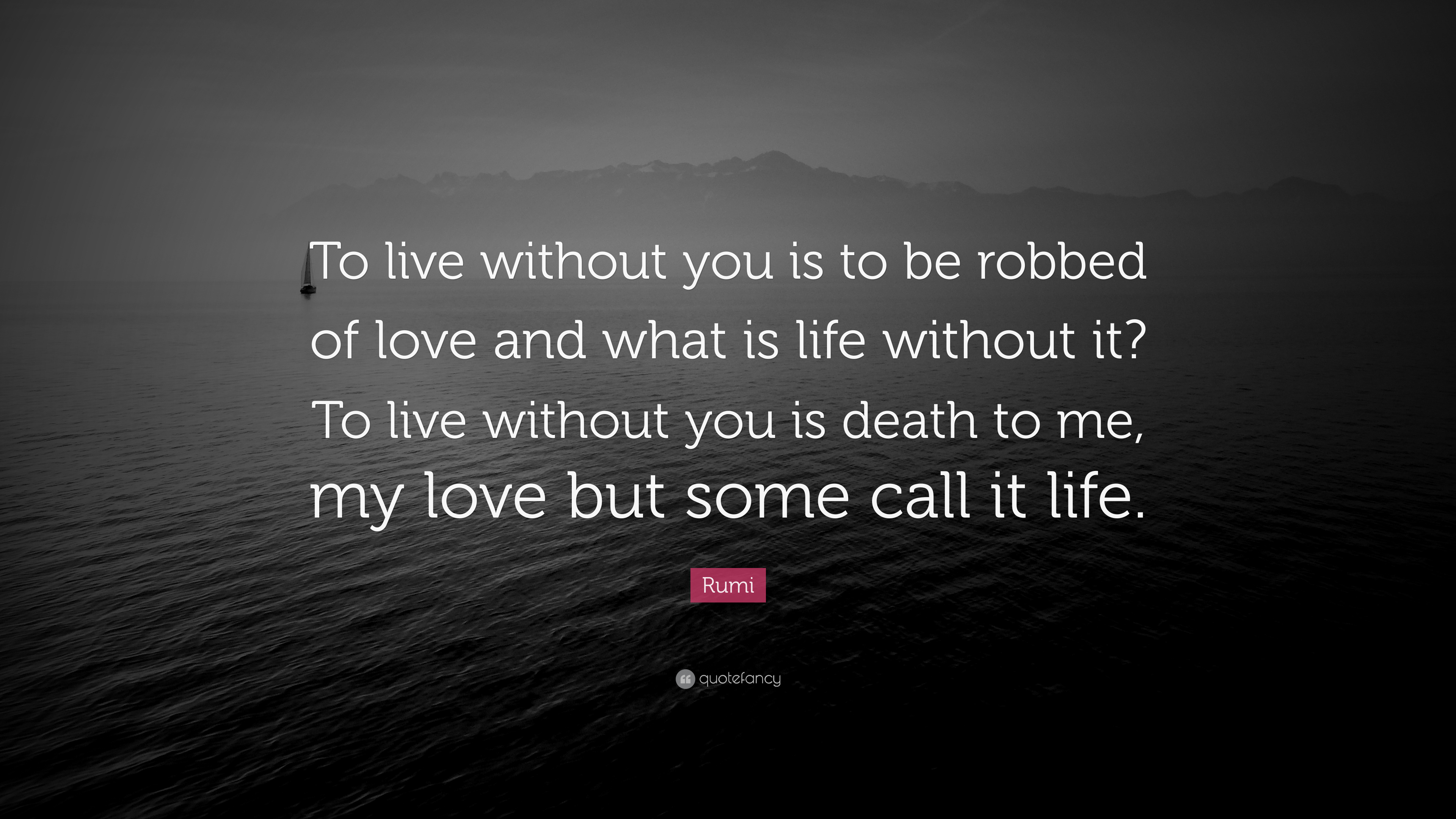 Rumi Quotes On Life Life Without You Quote  Bitami