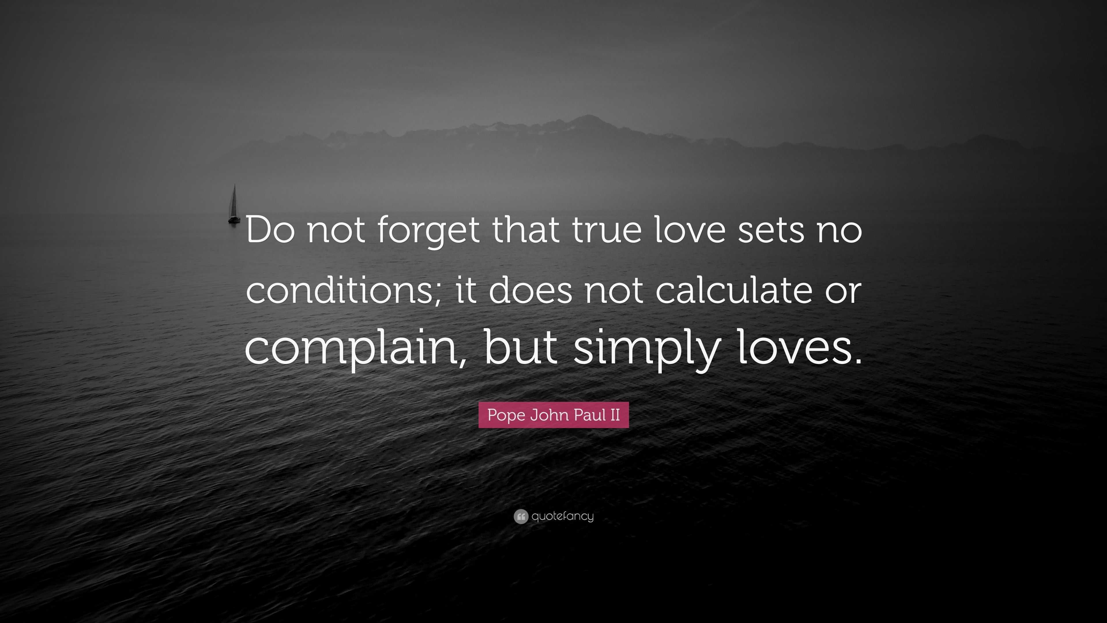 Is it true love or simply