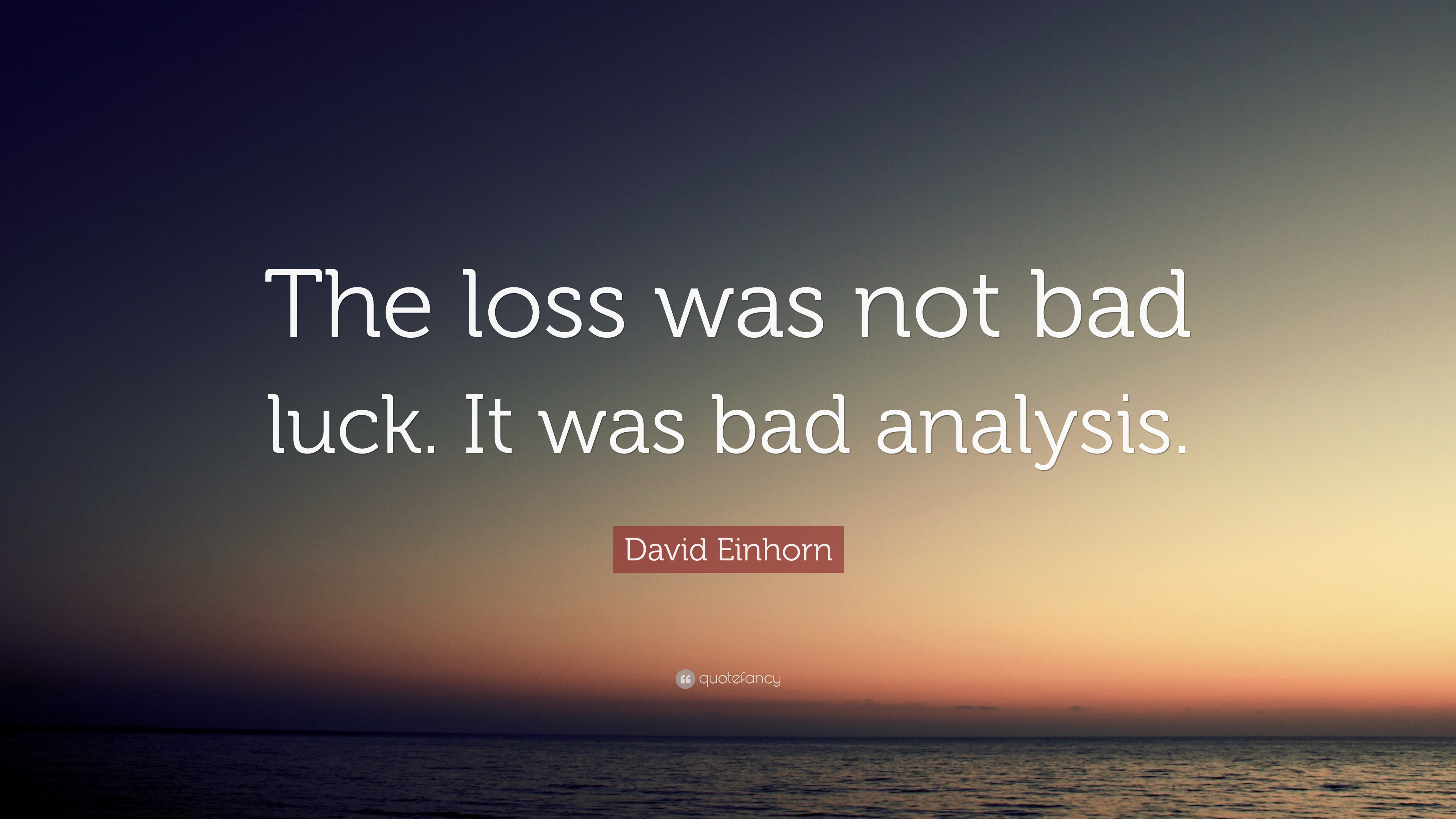 an analysis of bad luck Three basic kinds of moral luck: resultant luck, circumstantial luck, and constitutive luck my analysis will show that the seemingly hopeless clash of intuitions in the various cases of moral.
