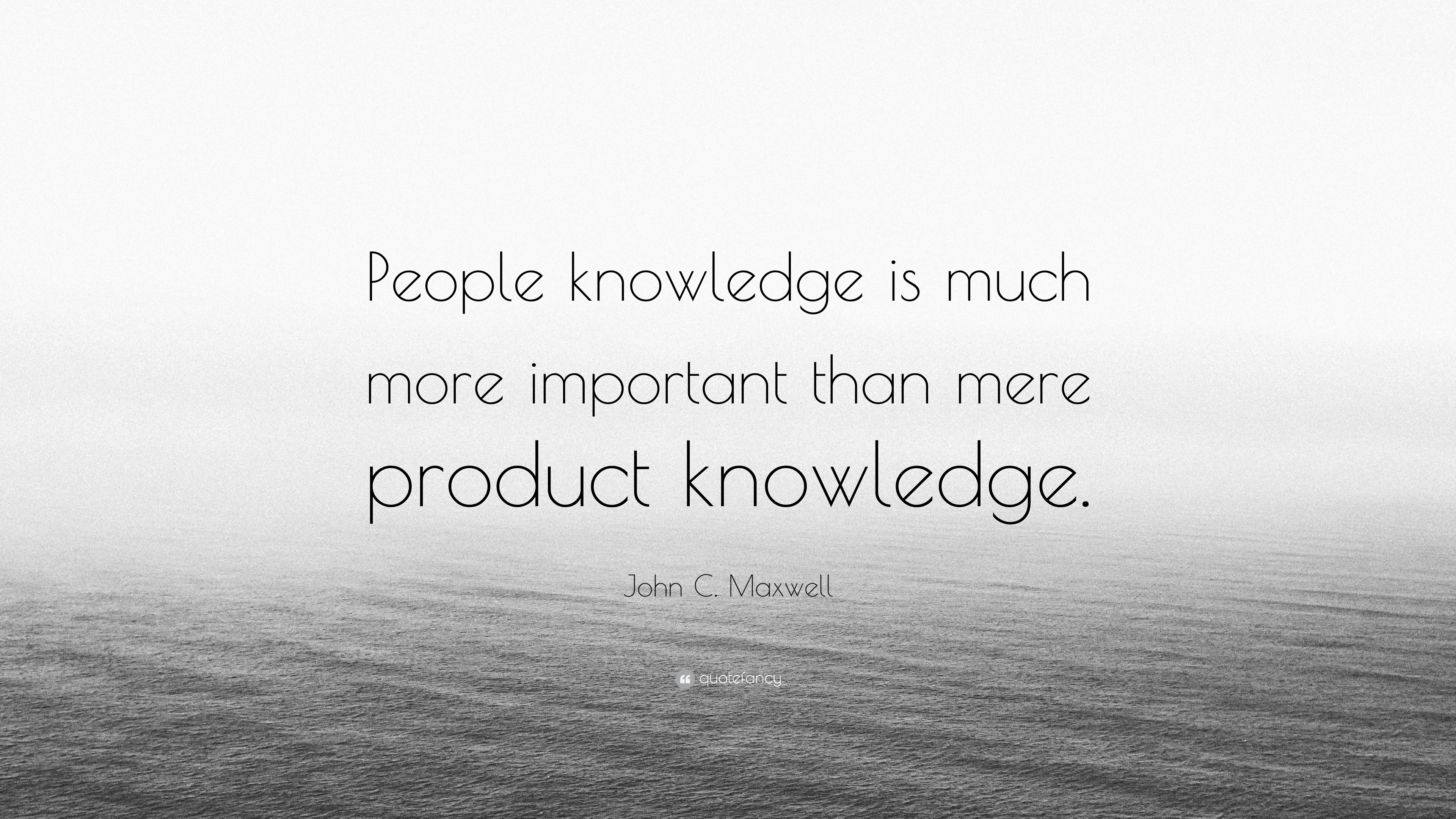 why product knowledge is important