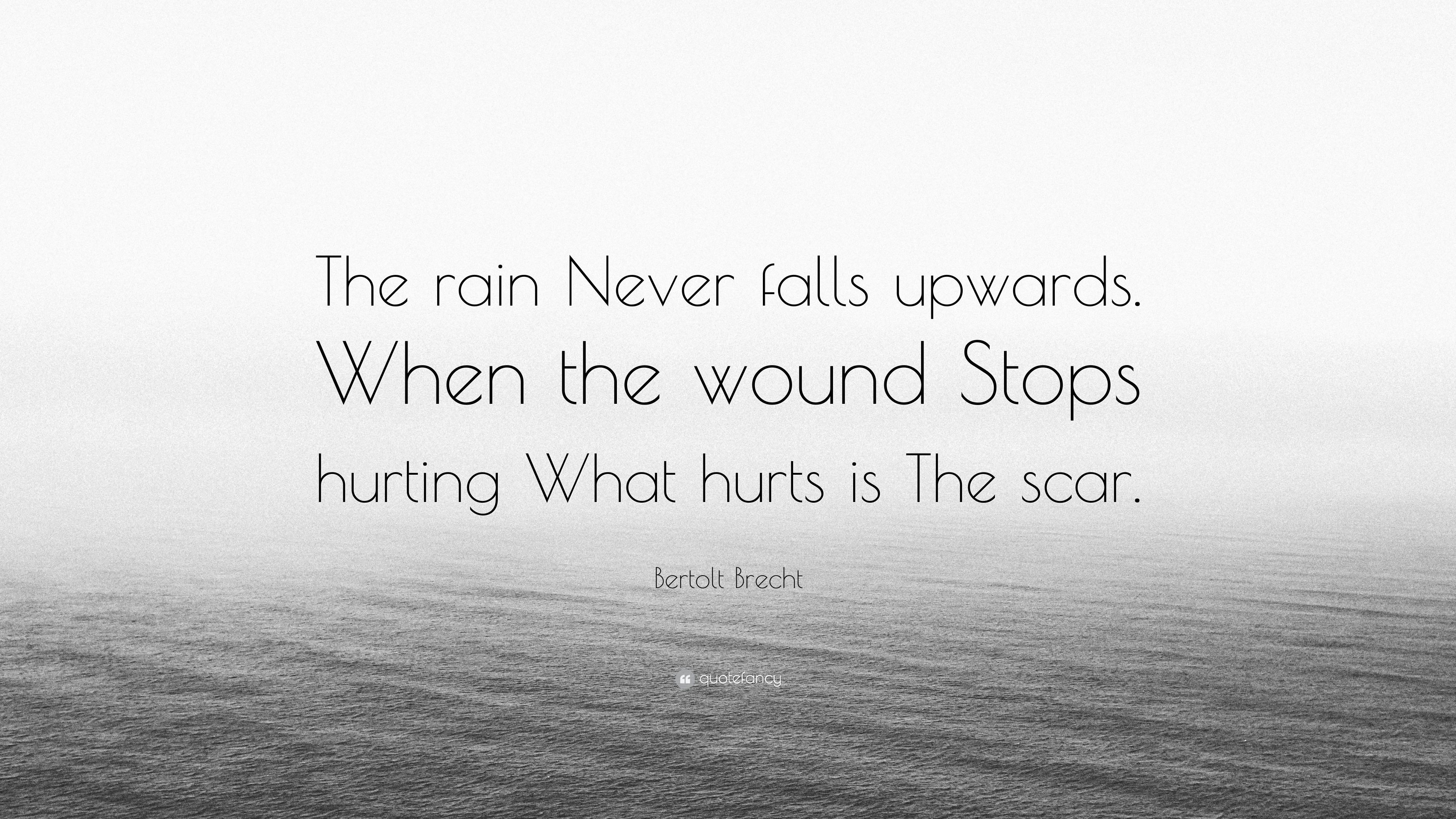 what if it never stopped raining
