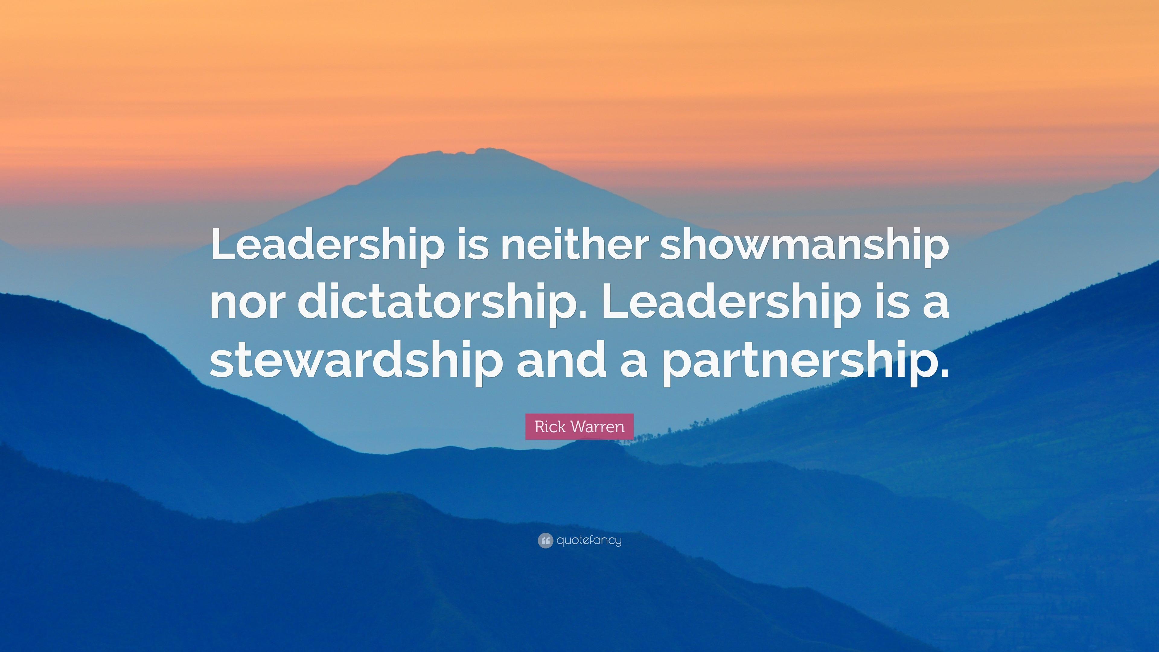 Rick Warren Quote