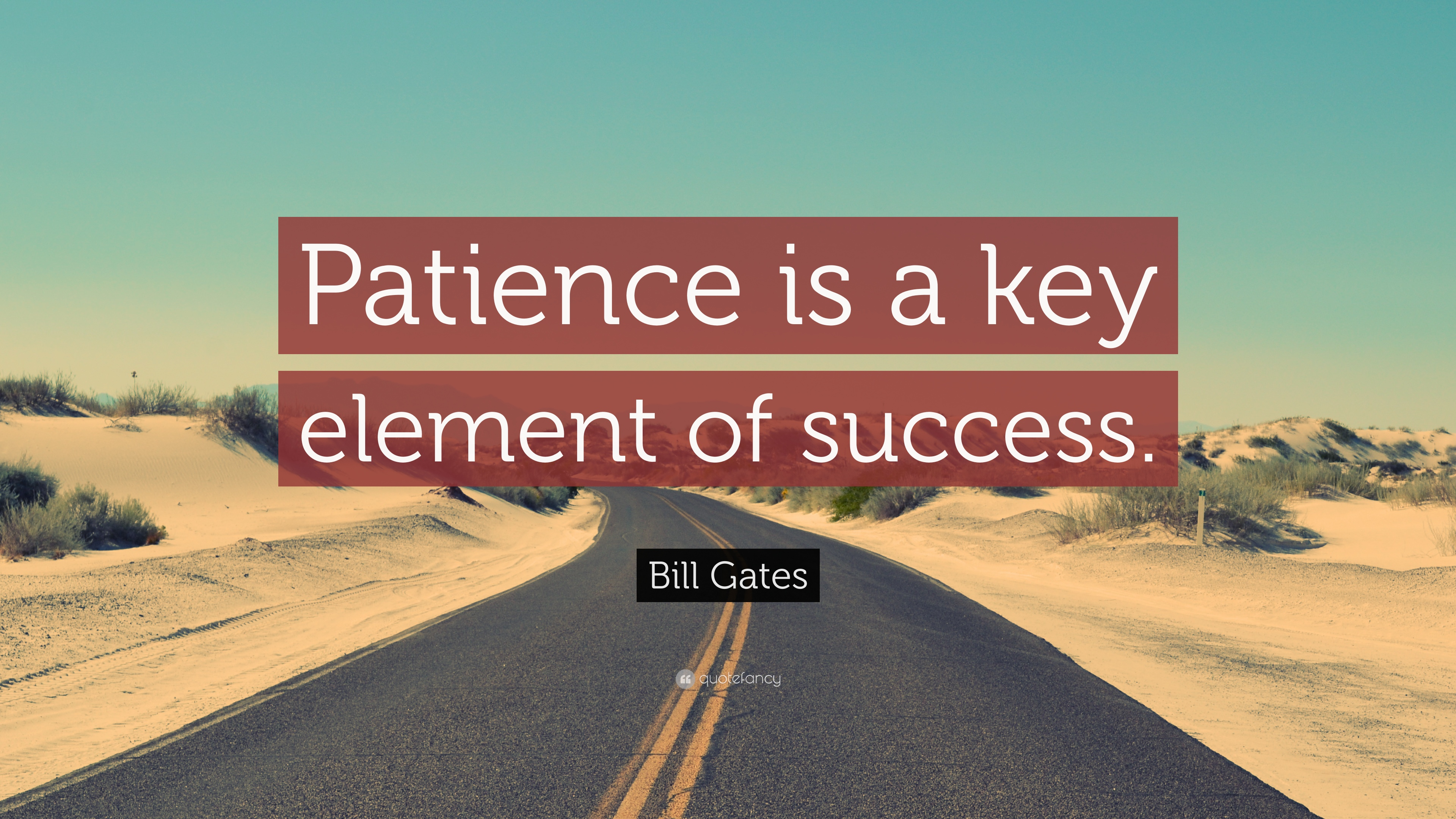 Patience Is The Key Of All Problems   Buyretina.us