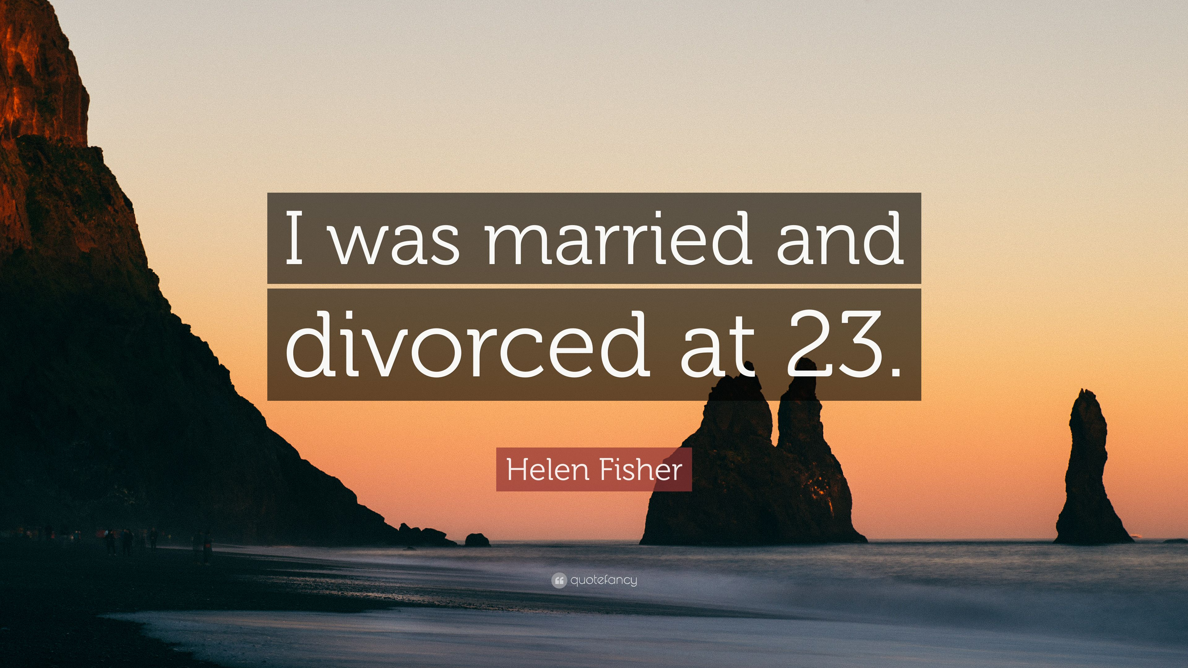 Helen fisher married