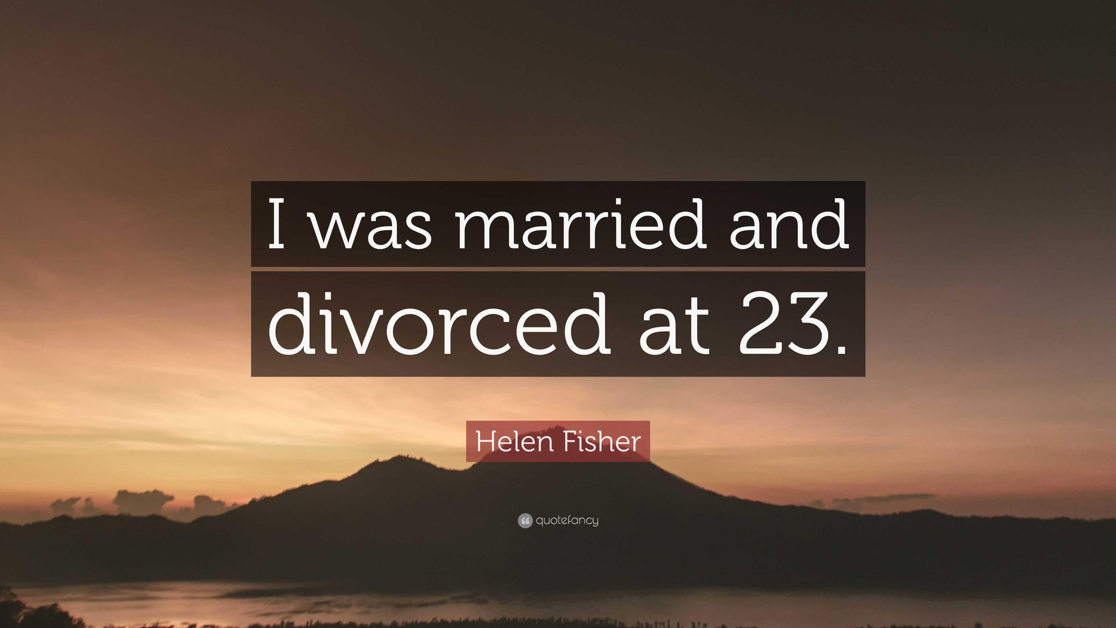 Is helen fisher married