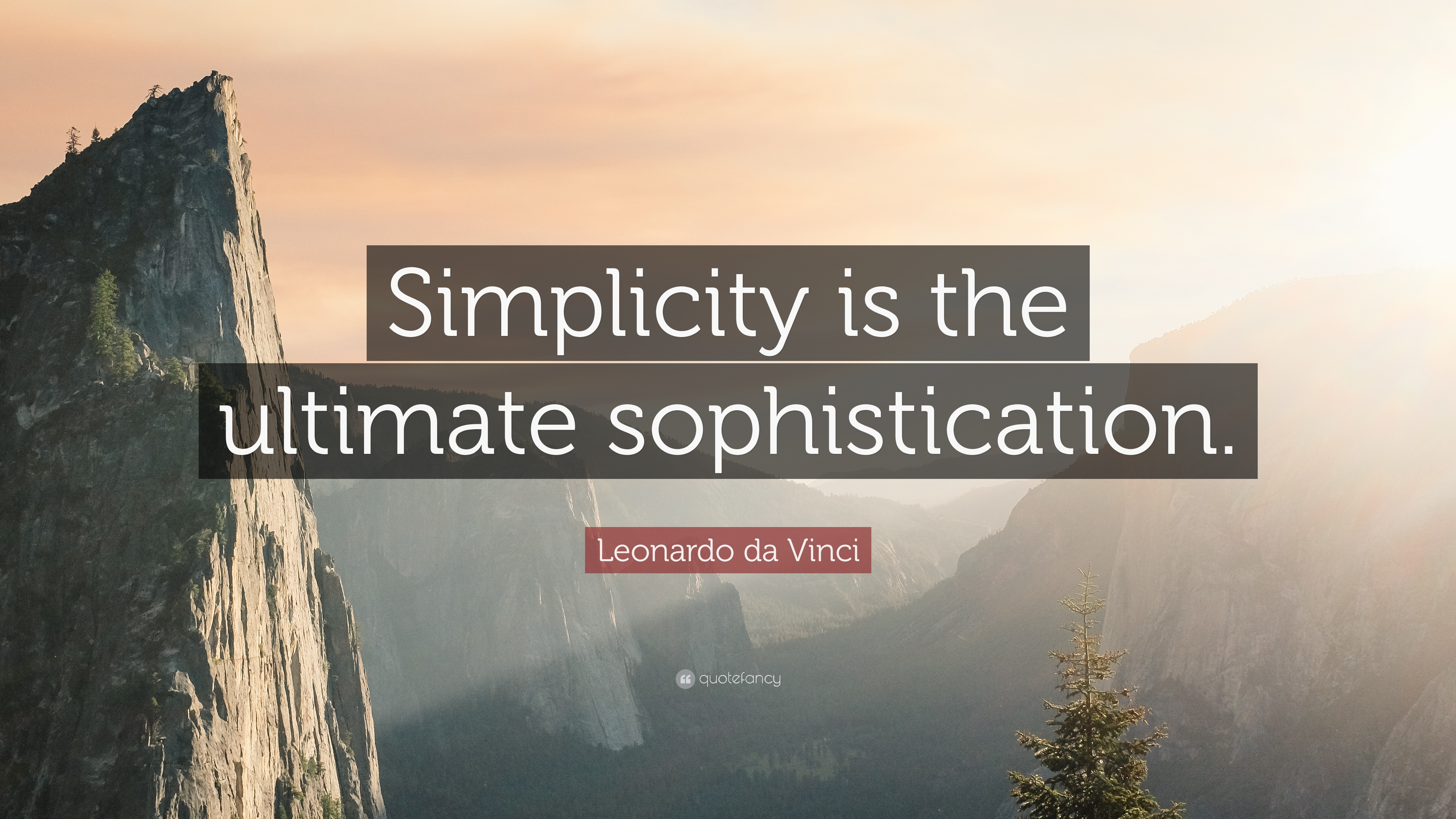 Leonardo Da Vinci Quote Simplicity Is The Ultimate Sophistication
