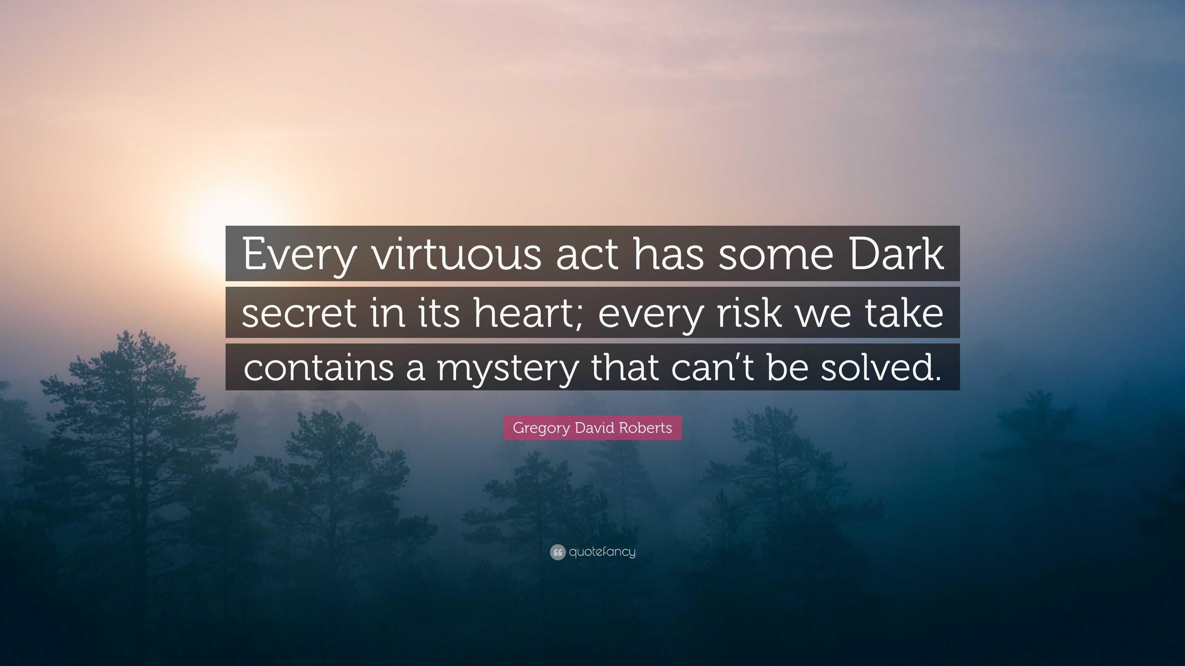 what are some dark secrets