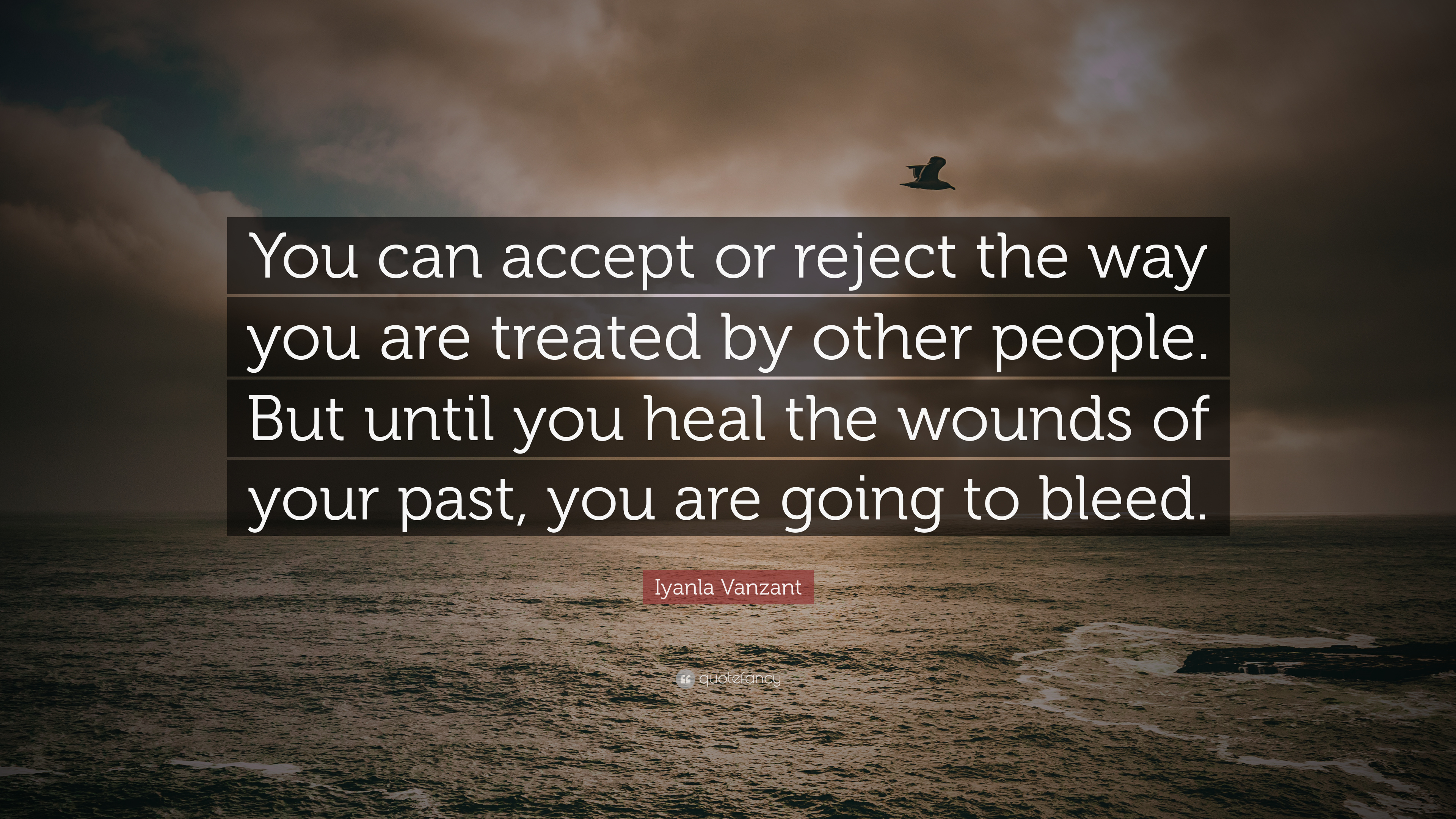 "Iyanla Vanzant Quotes Iyanla Vanzant Quote: ""You can accept or reject the way you are  Iyanla Vanzant Quotes"