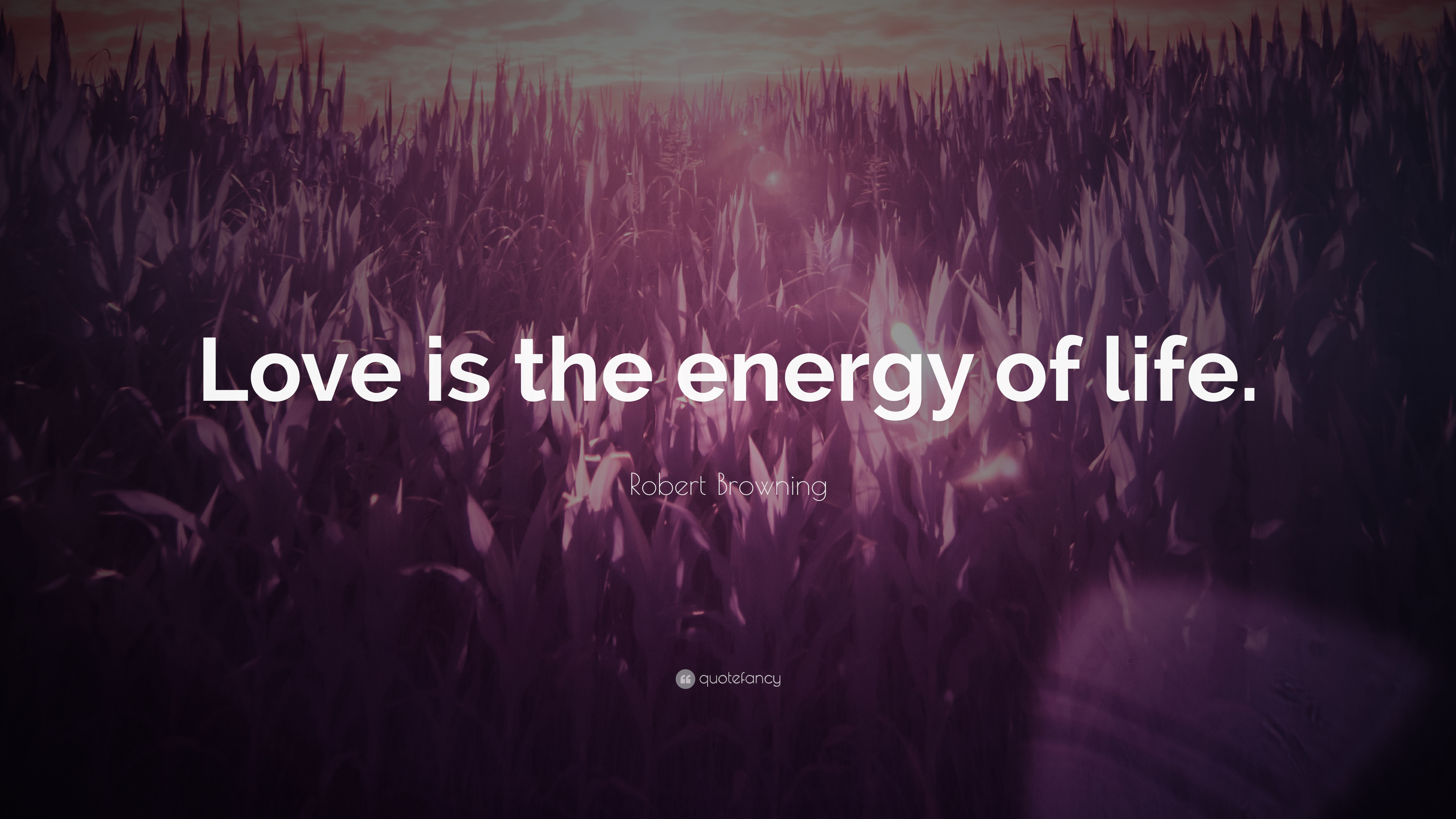 "Life Energy Quotes Robert Browning Quote ""Love Is The Energy Of Life."" 6 Wallpapers"
