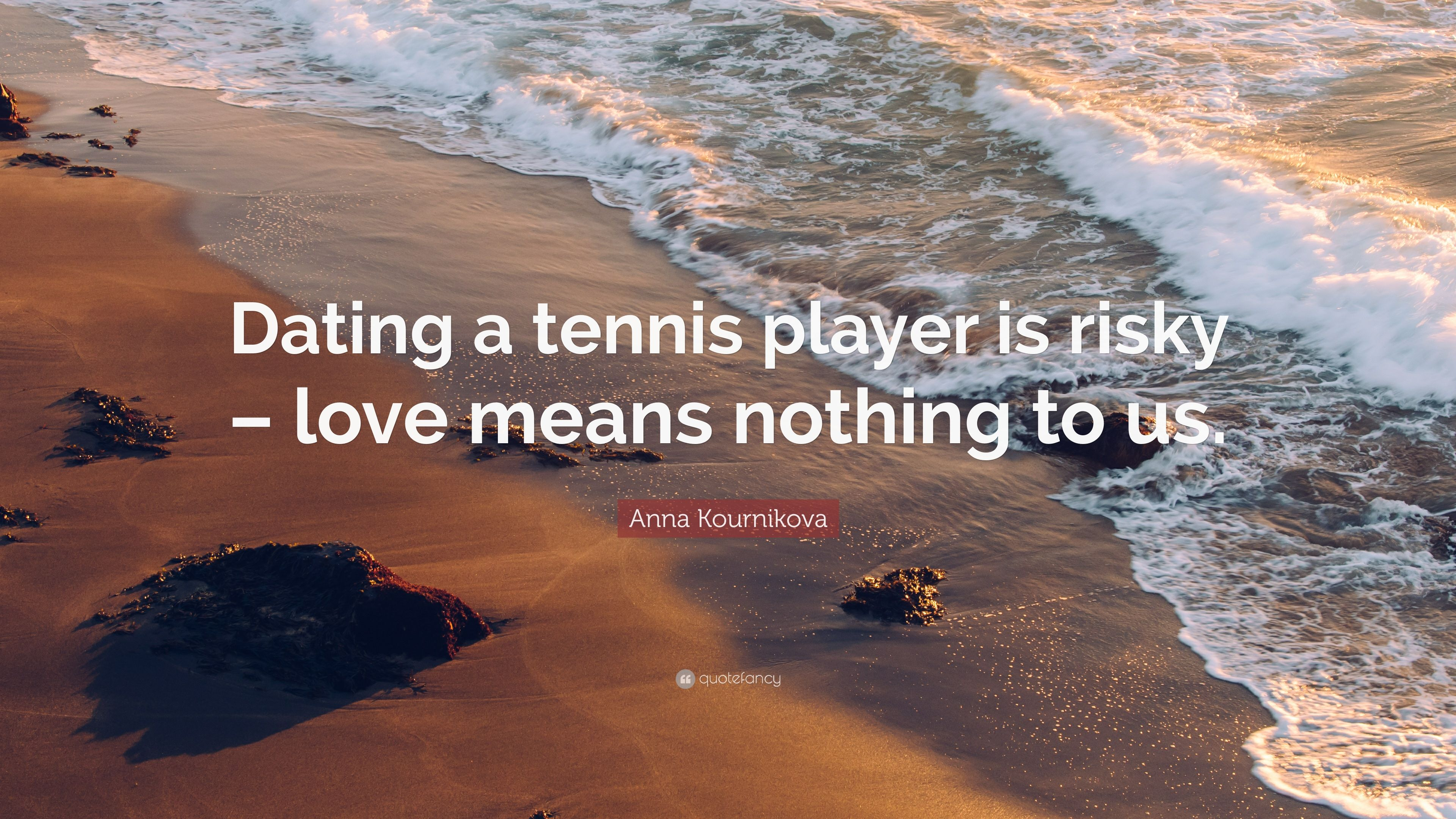 dating tennis players