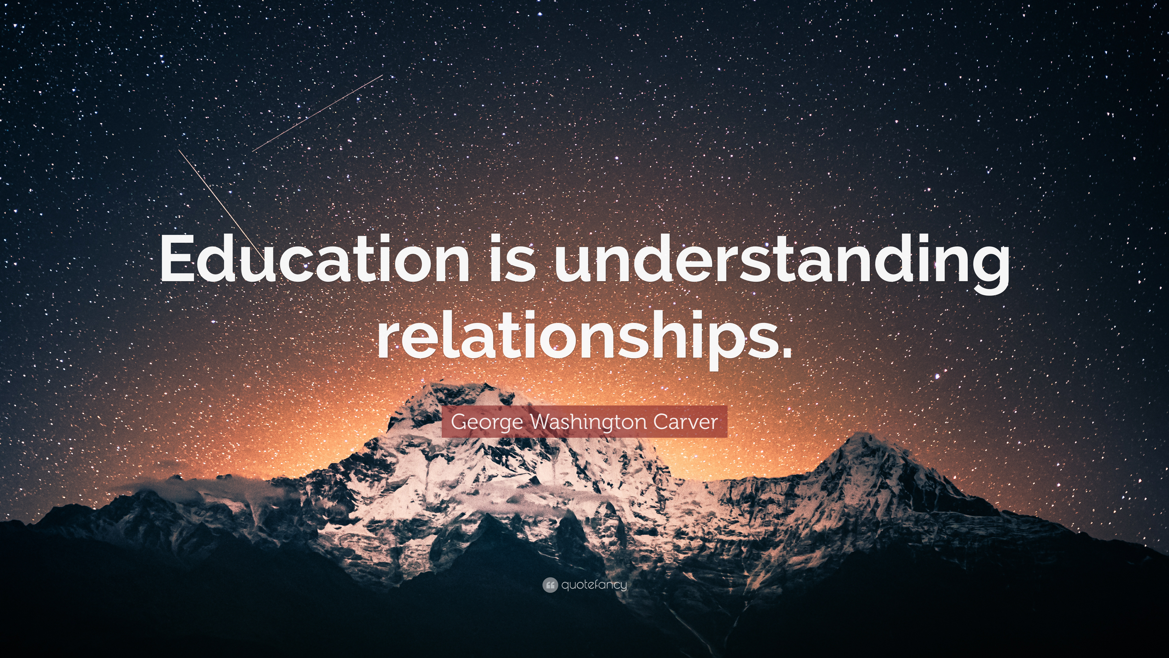 """george washington carver quote """"education is understanding"""