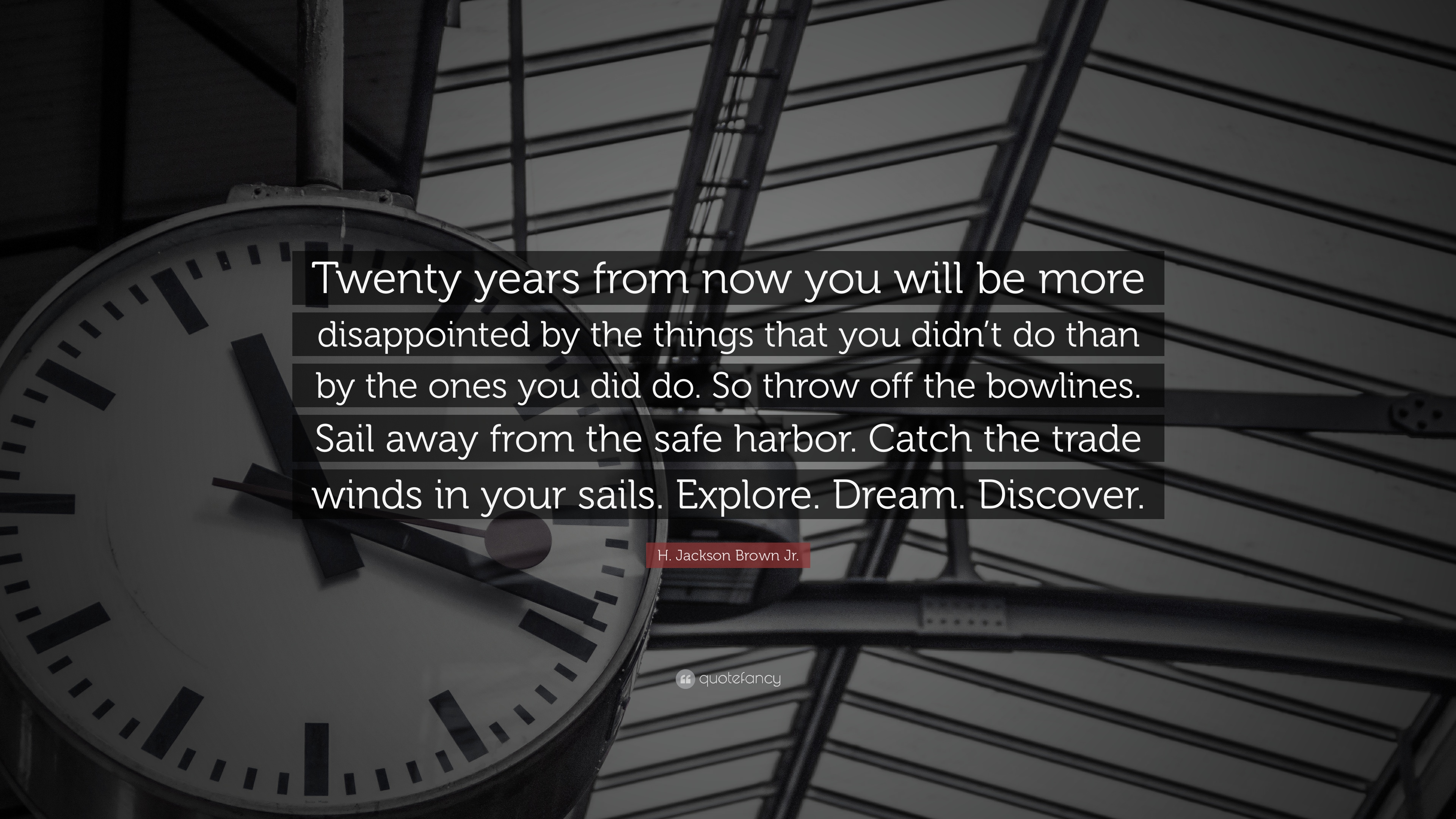 20 Years From Now Quote