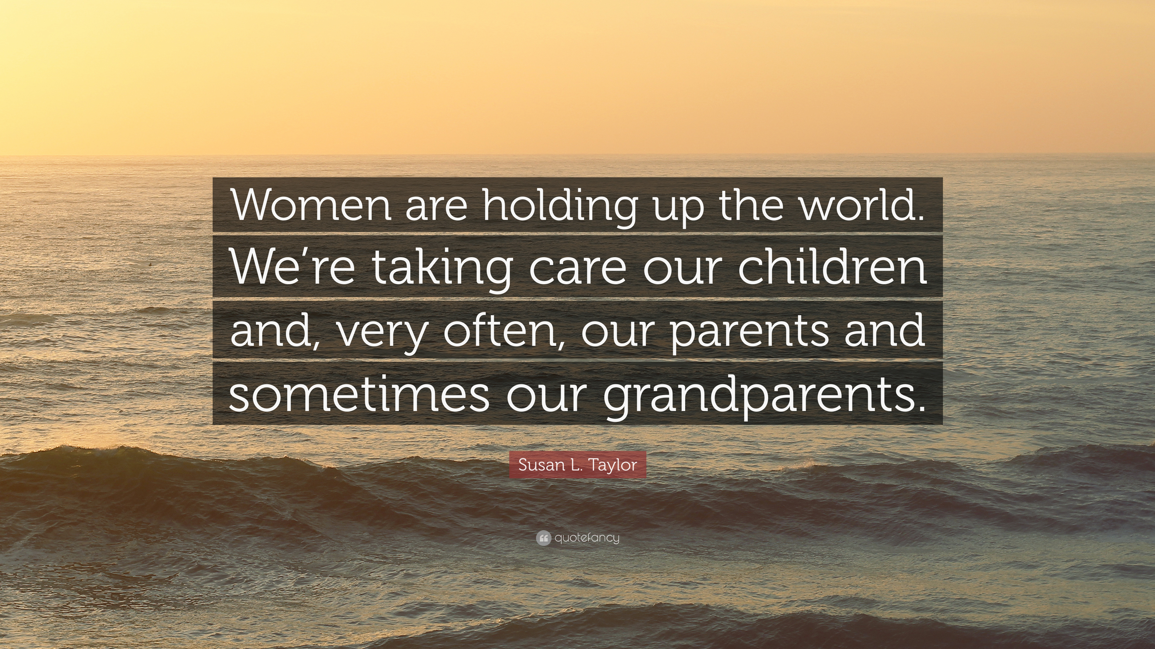 taking care of our parents
