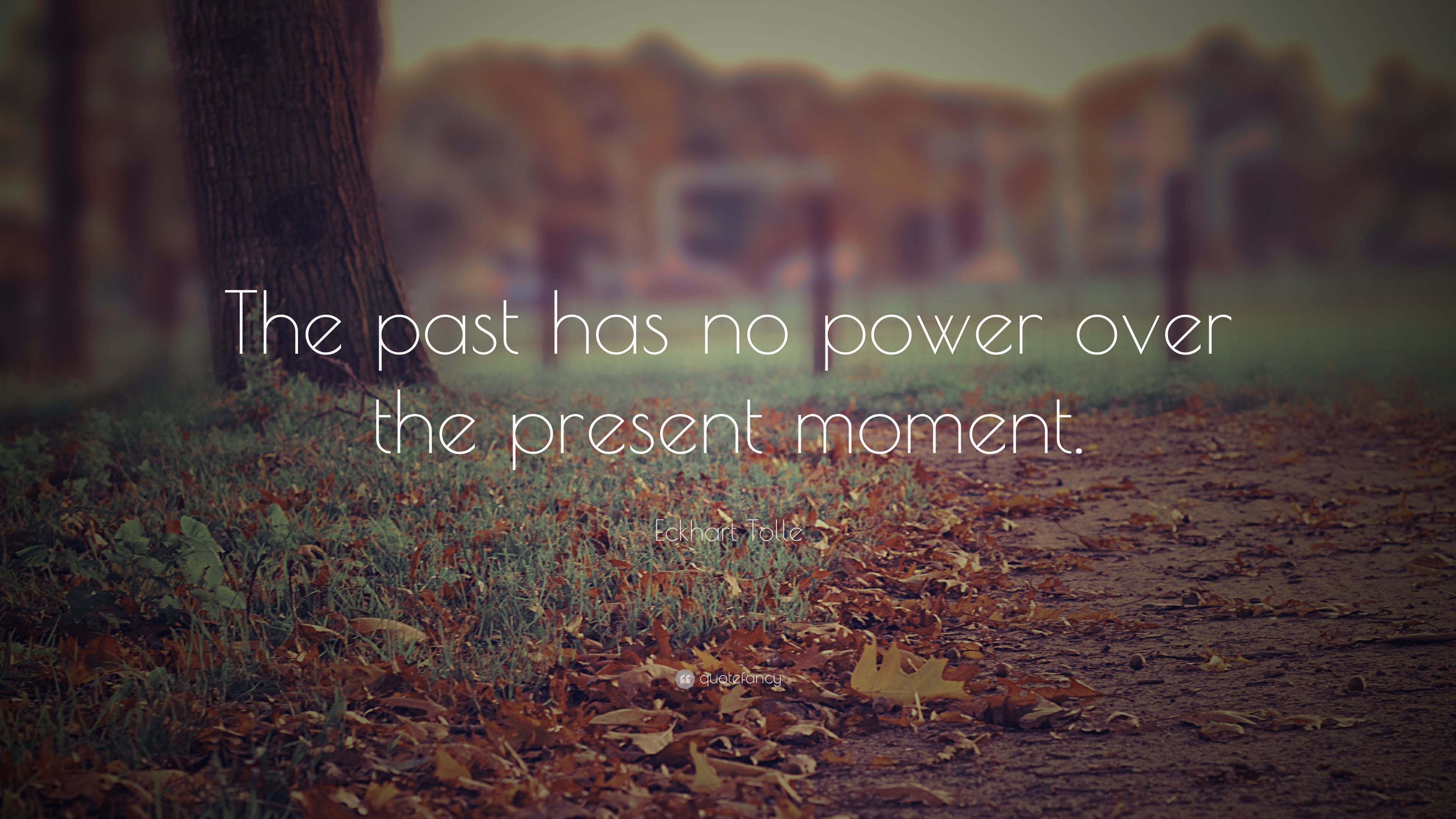 Beautiful Positive Quotes: U201cThe Past Has No Power Over The Present Moment.u201d U2014