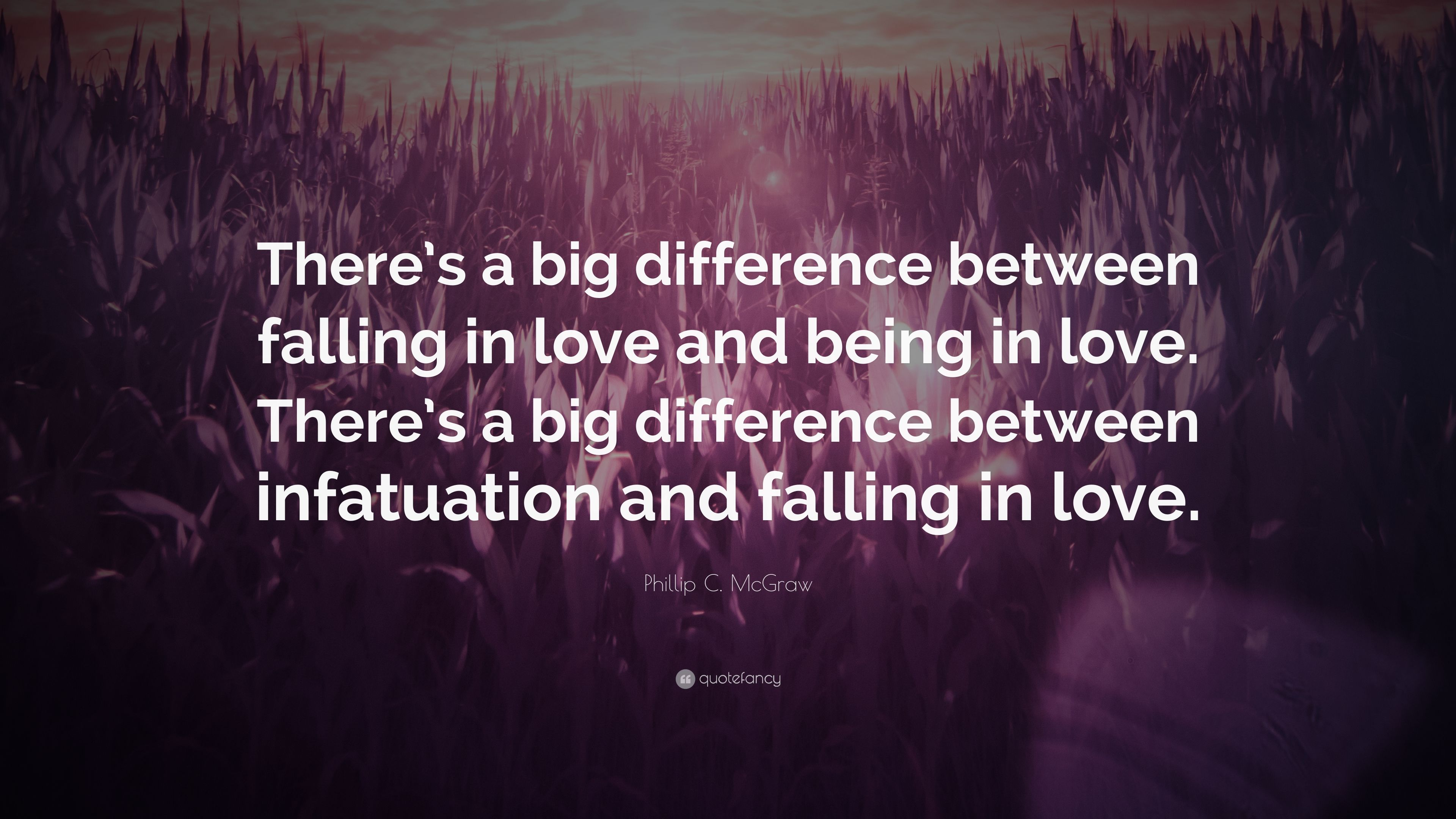 whats the difference between infatuation and love