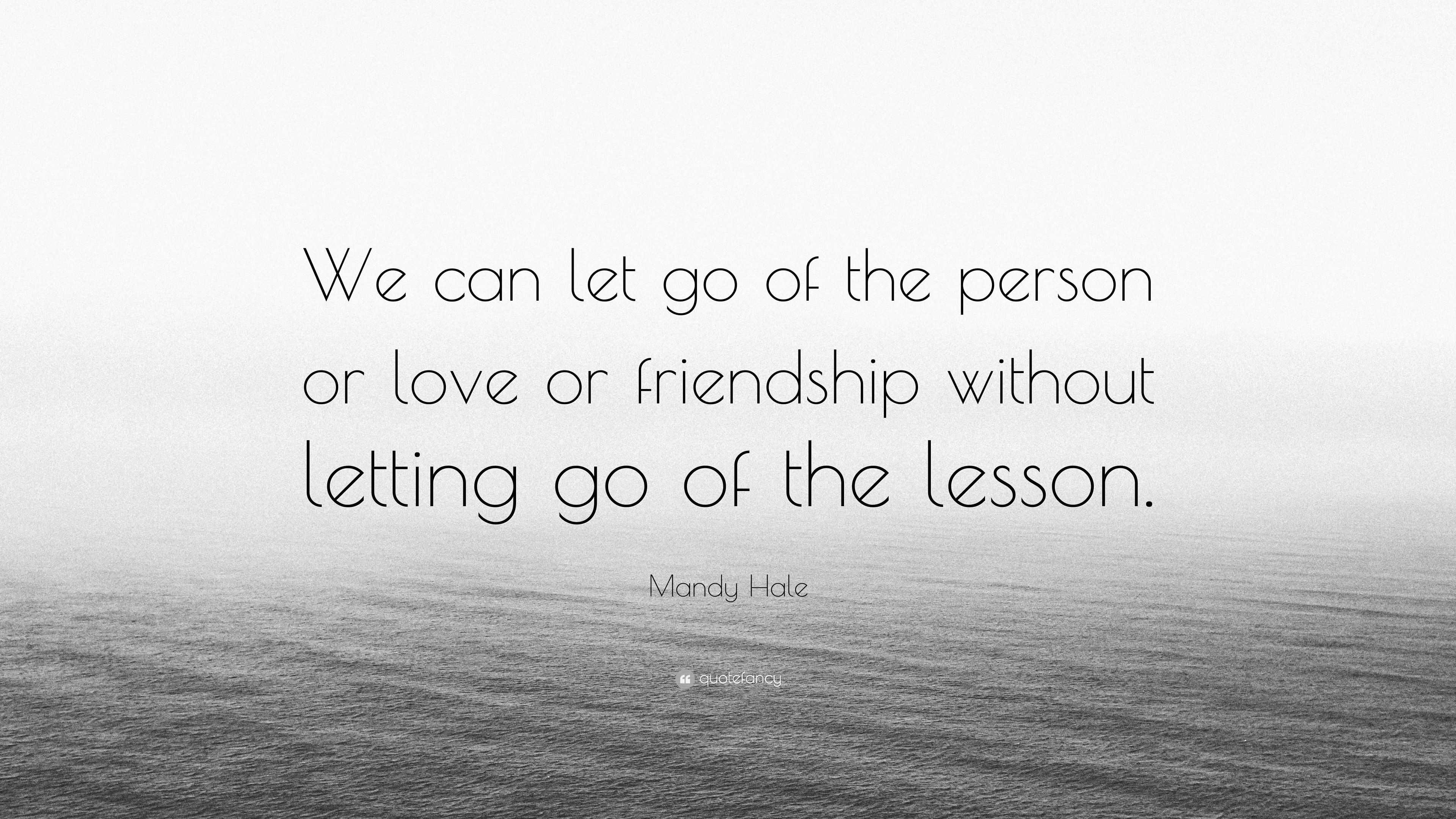 Letting Go of a Friendship Letting Go of a Friendship new foto