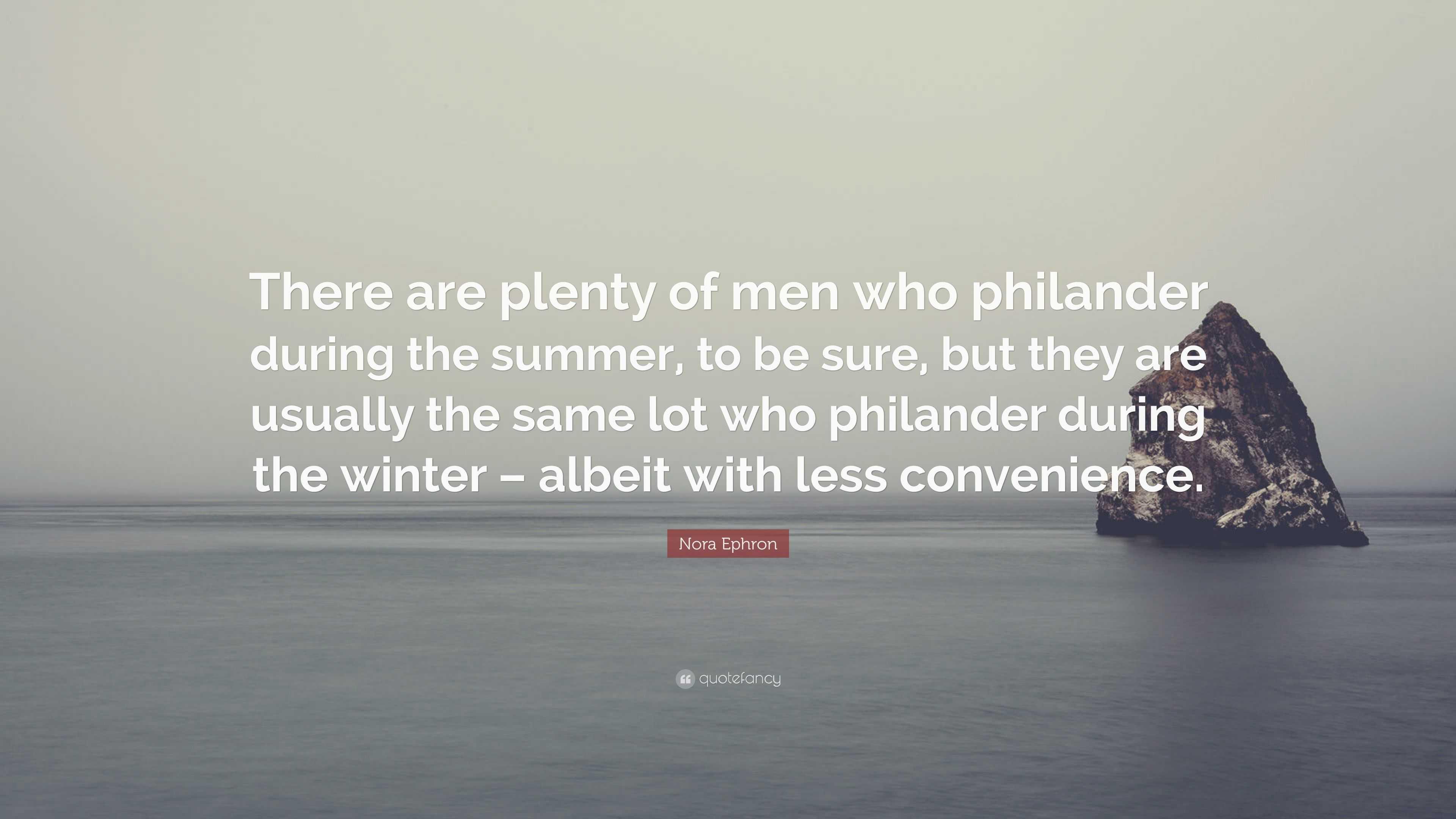 plenty of men