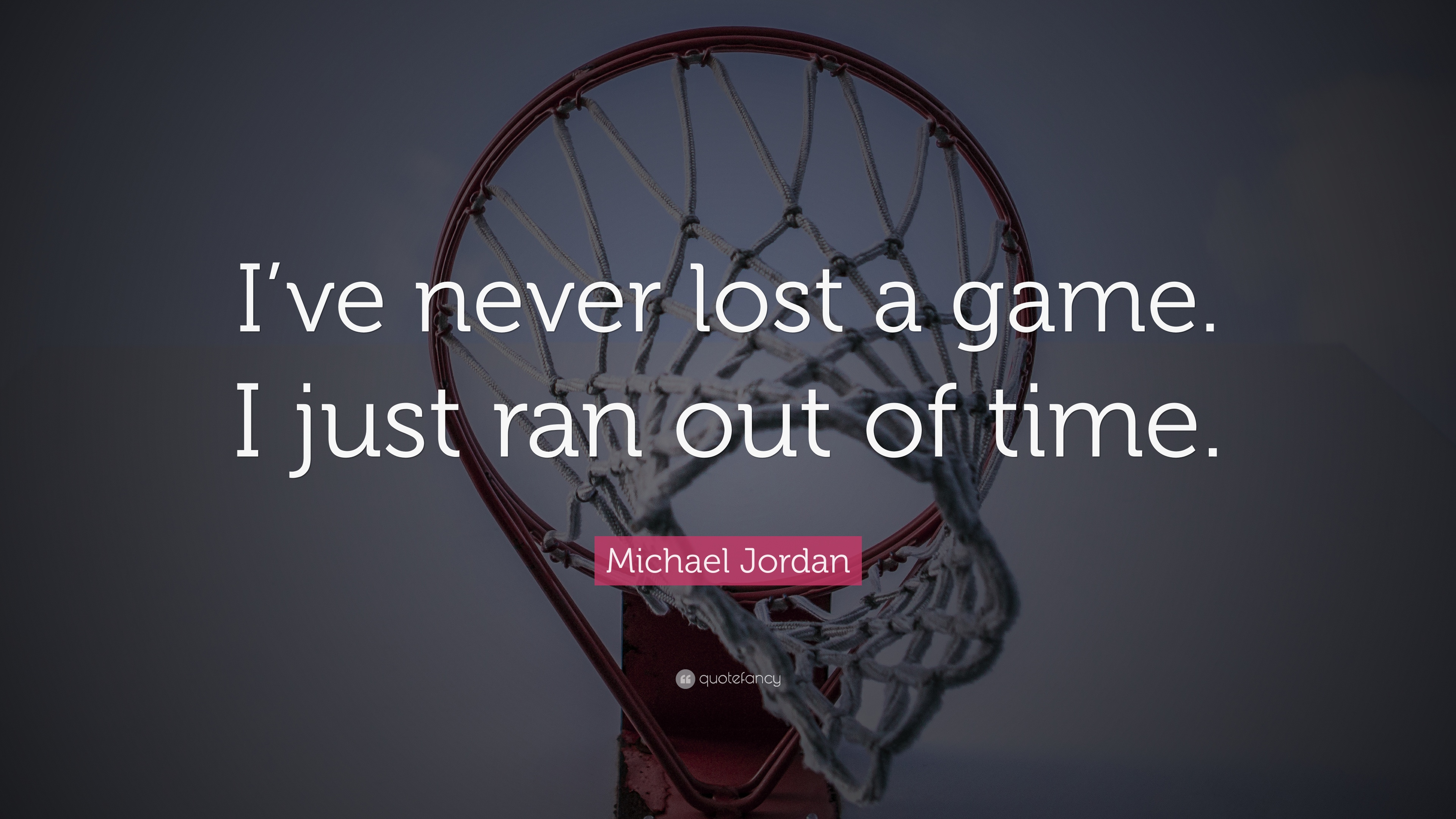 michael jordan quote i ve never lost a game i just ran out of time 18 wallpapers quotefancy i ve never lost a game i just ran out