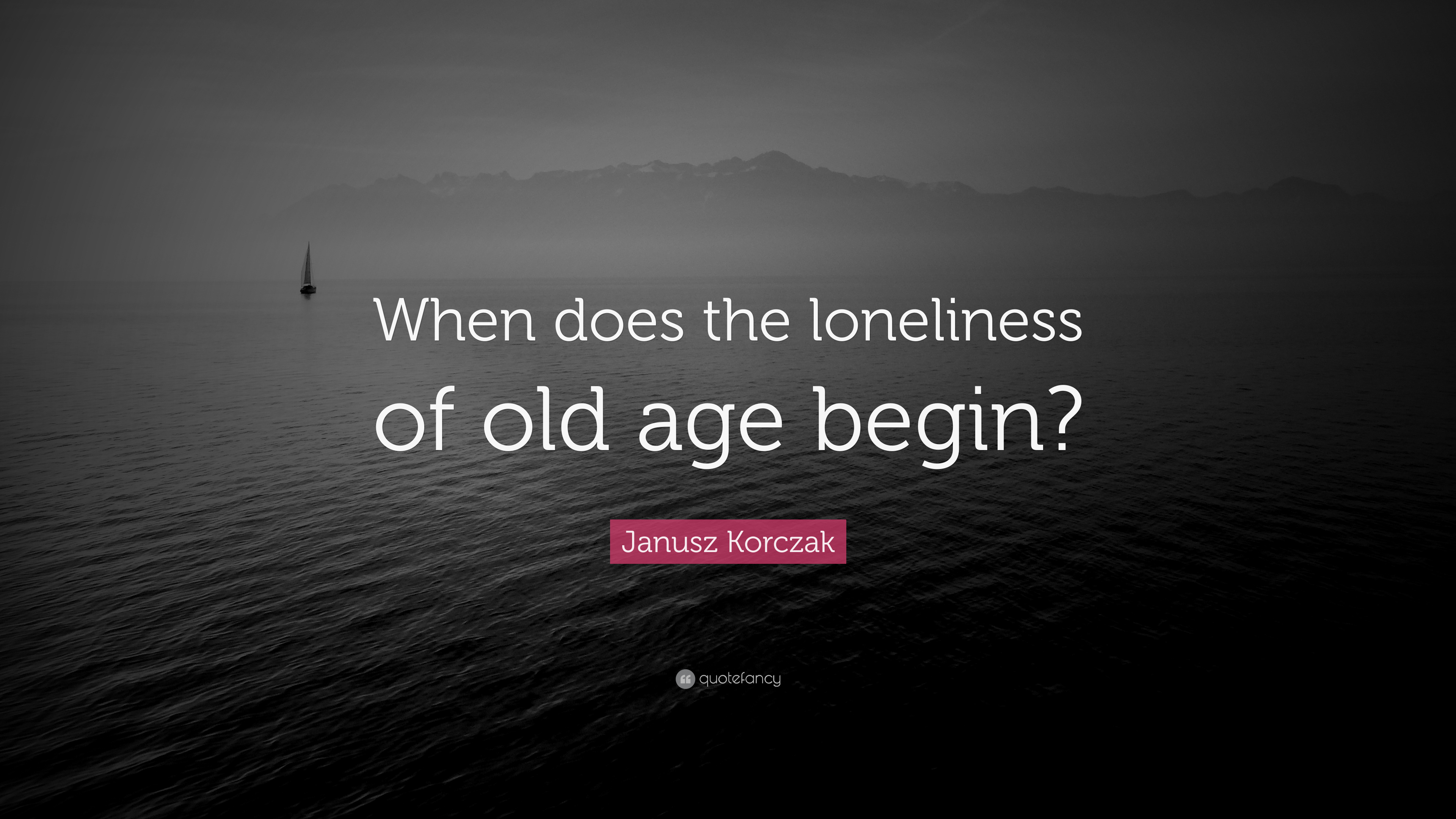 Loneliness of old age essay