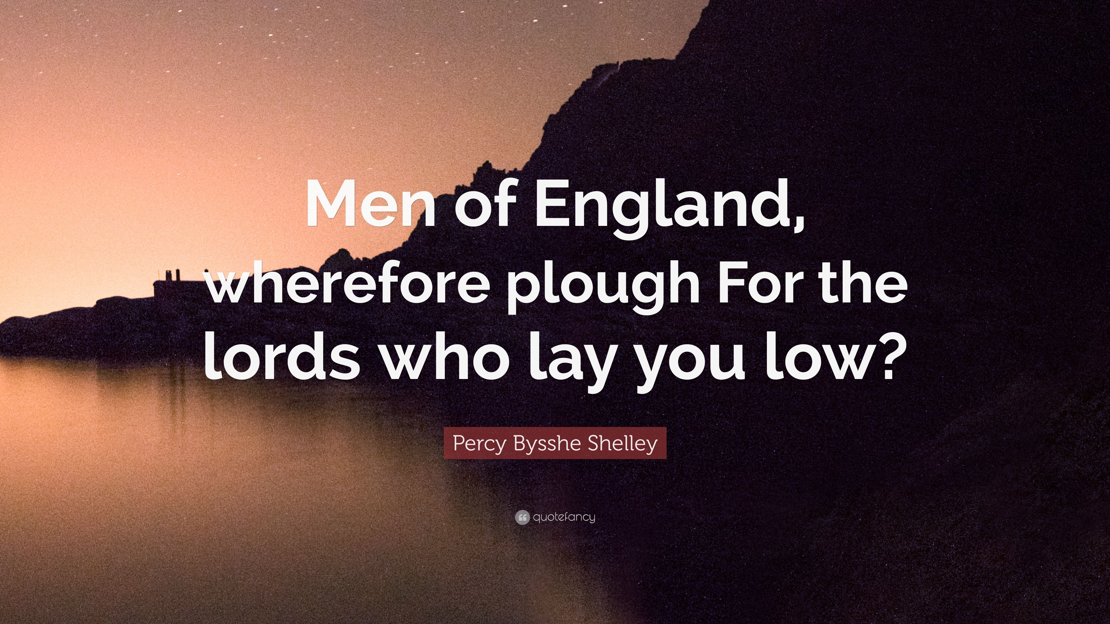 the men of england