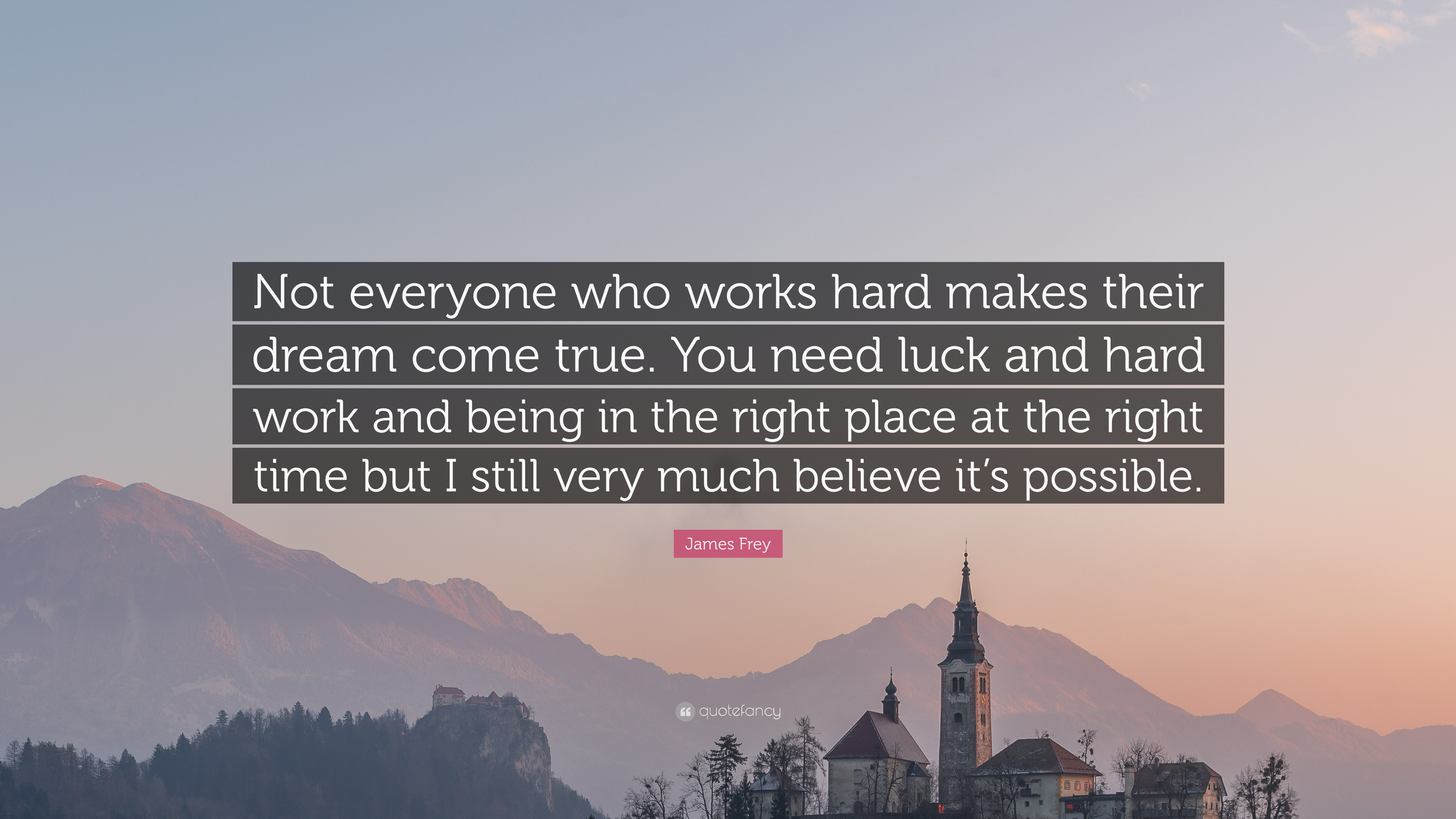 hardwork and luck Success can not be achieved without hard work however, i disagree with the statement that luck has nothing to do with success in my opinion, the combination of hard work and luck is the way to success.