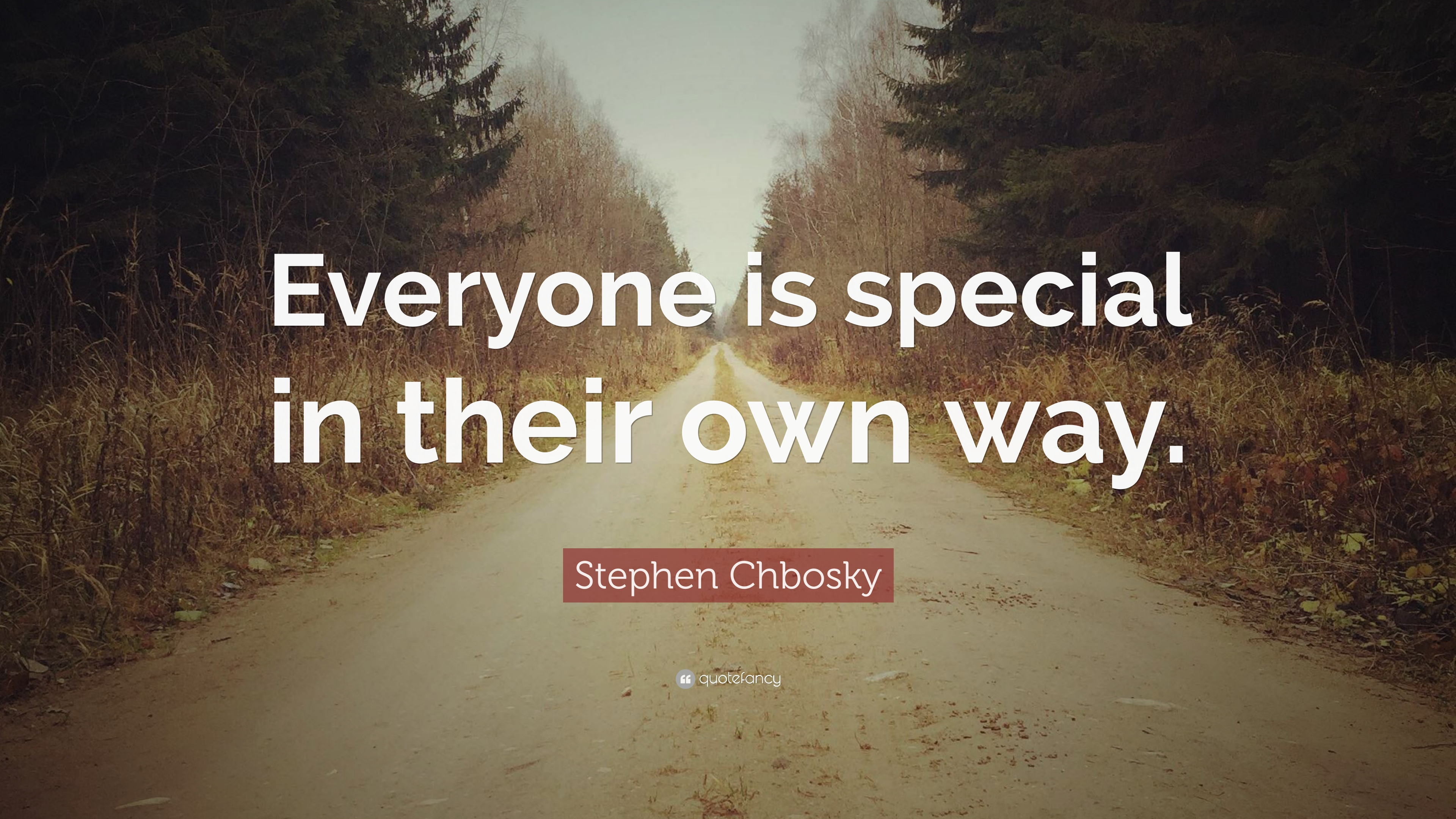 Everyone is special in their own way essay
