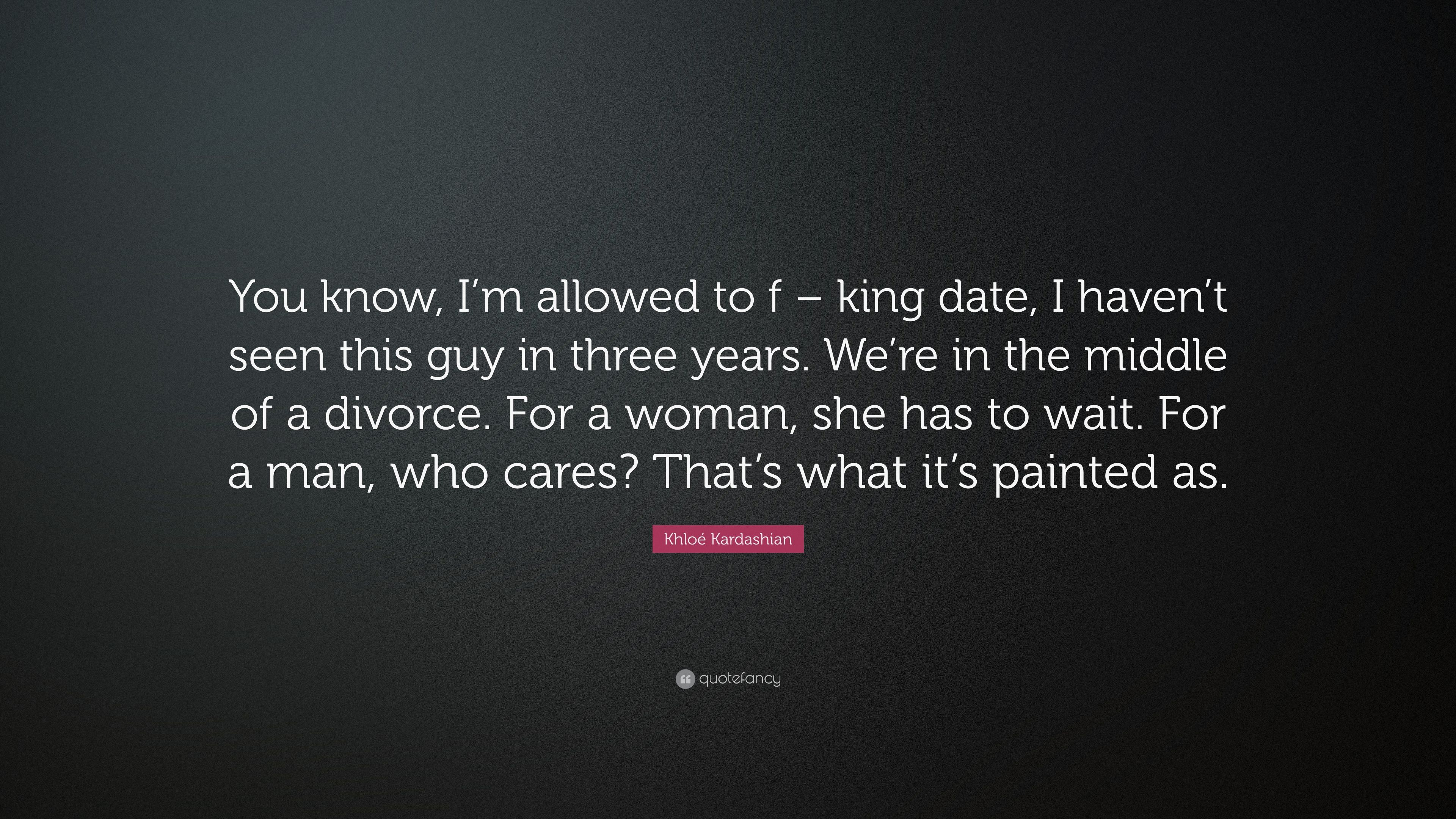 Dating a man in the middle of divorce