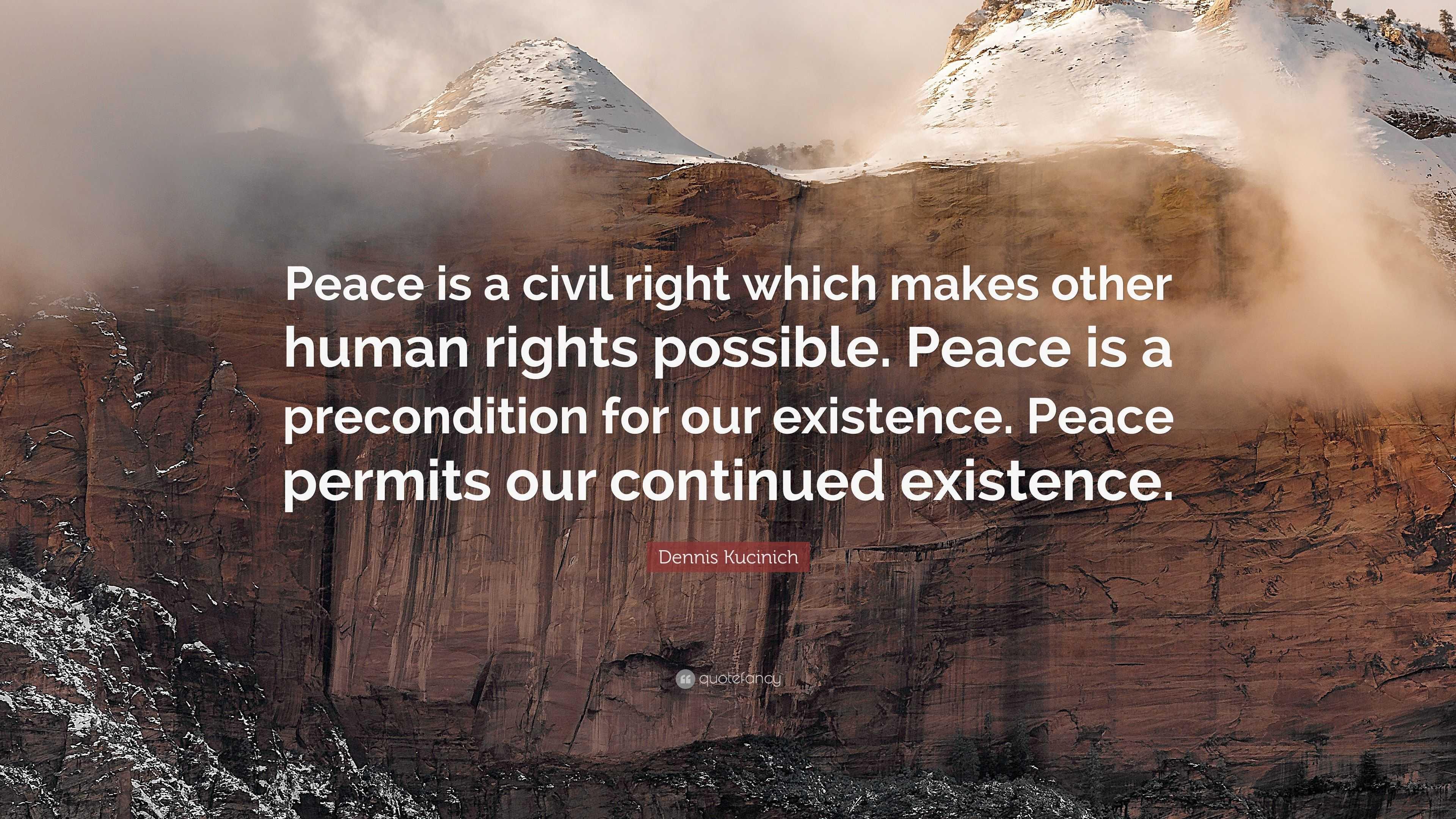 Dennis Kucinich Peace