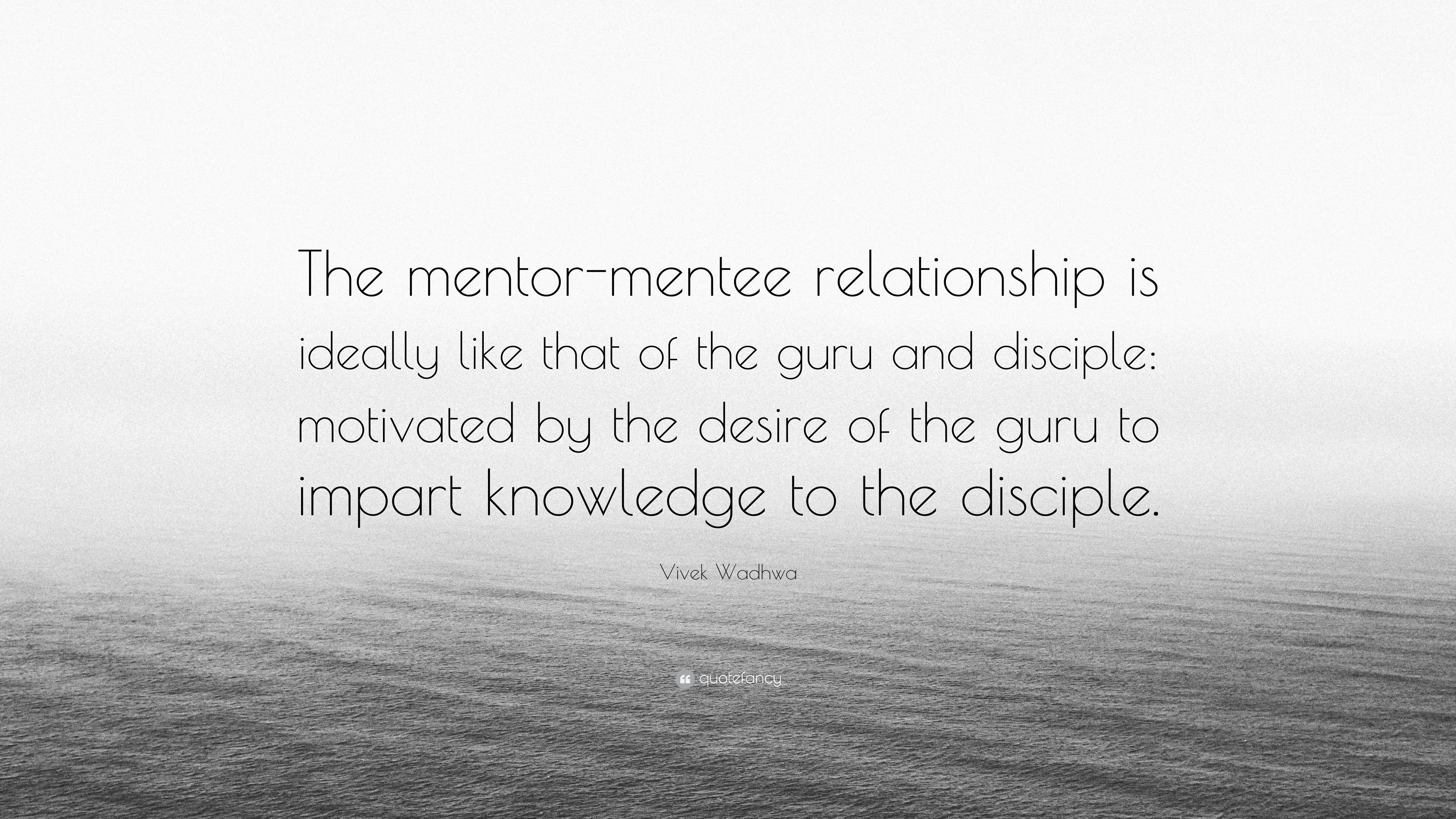 quotes on mentor disciple relationship