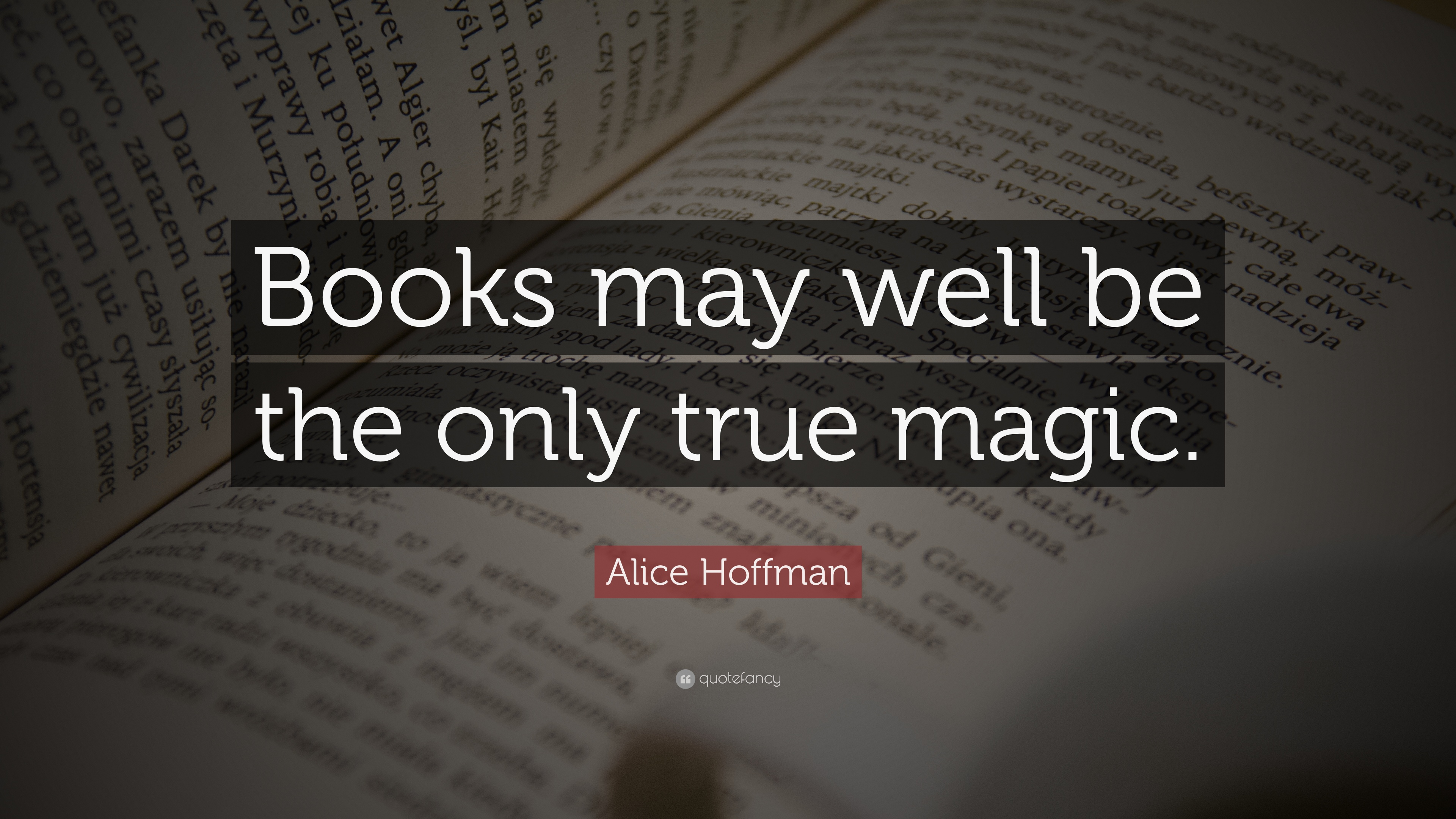 Image result for books may be magic alice hoffman quote