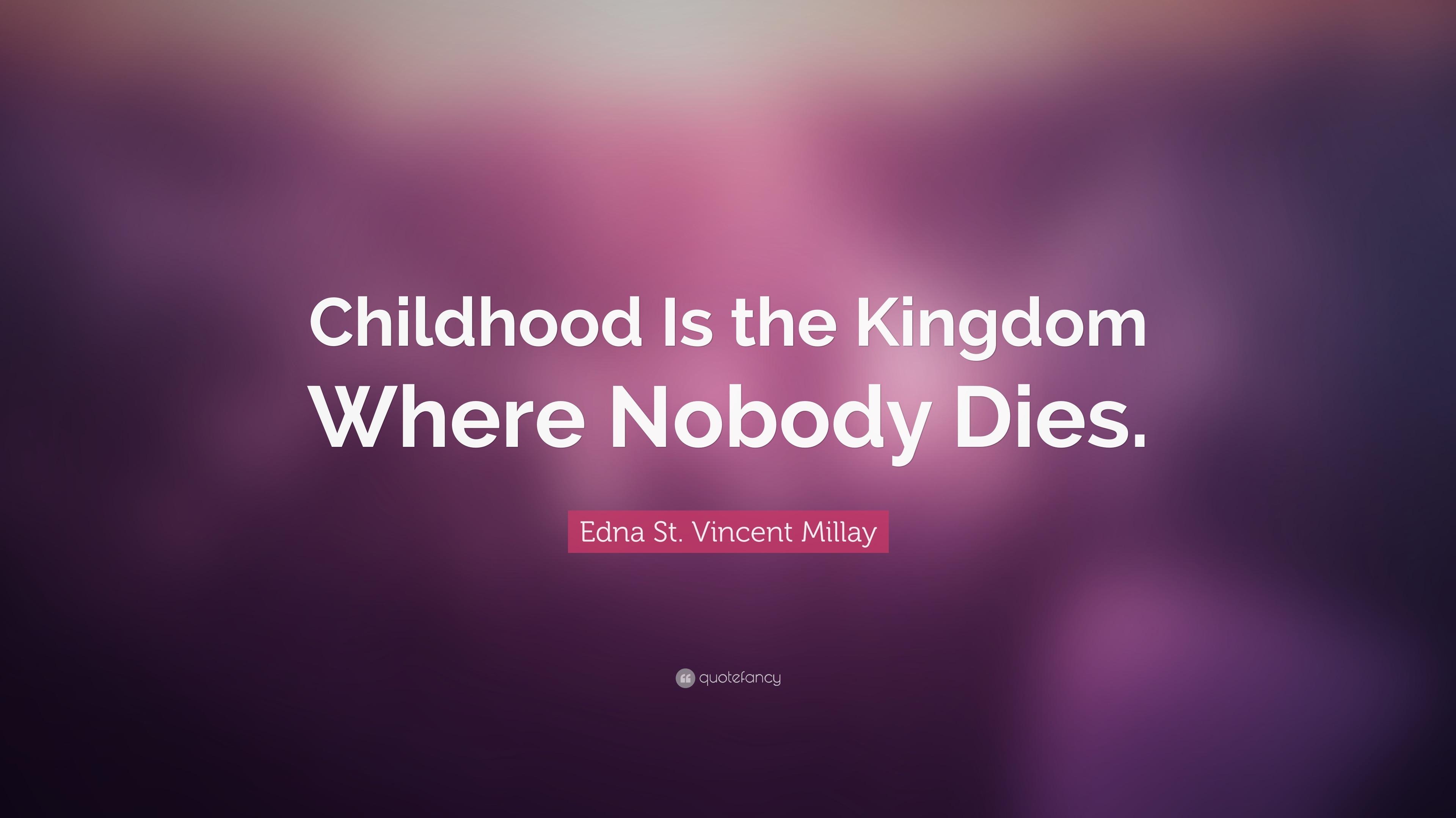 edna st vincent millay childhood
