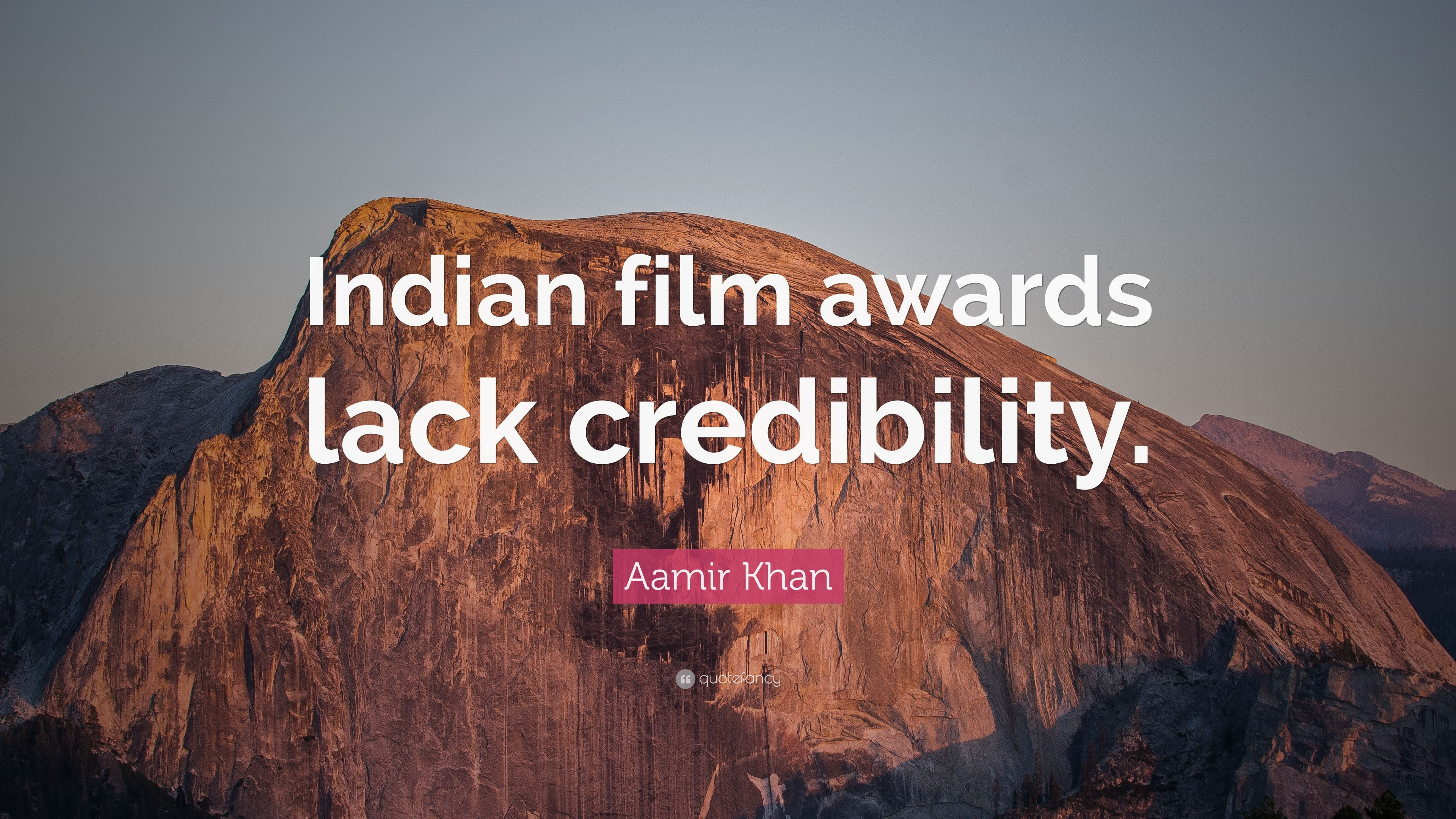 """Aamir Khan Quote: """"Indian film awards lack credibility """" (7"""